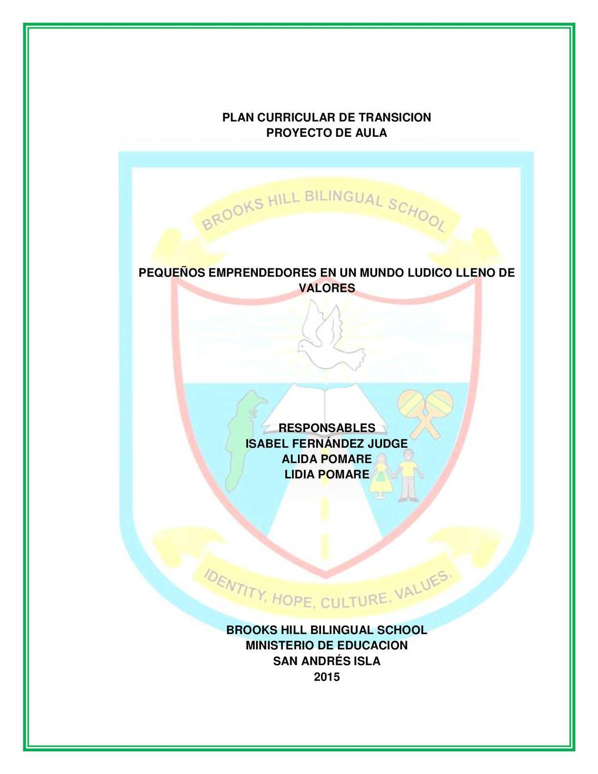 Calaméo - Isabel Modelo Preescolar Escolarizado Cidep 2015 Actualizado