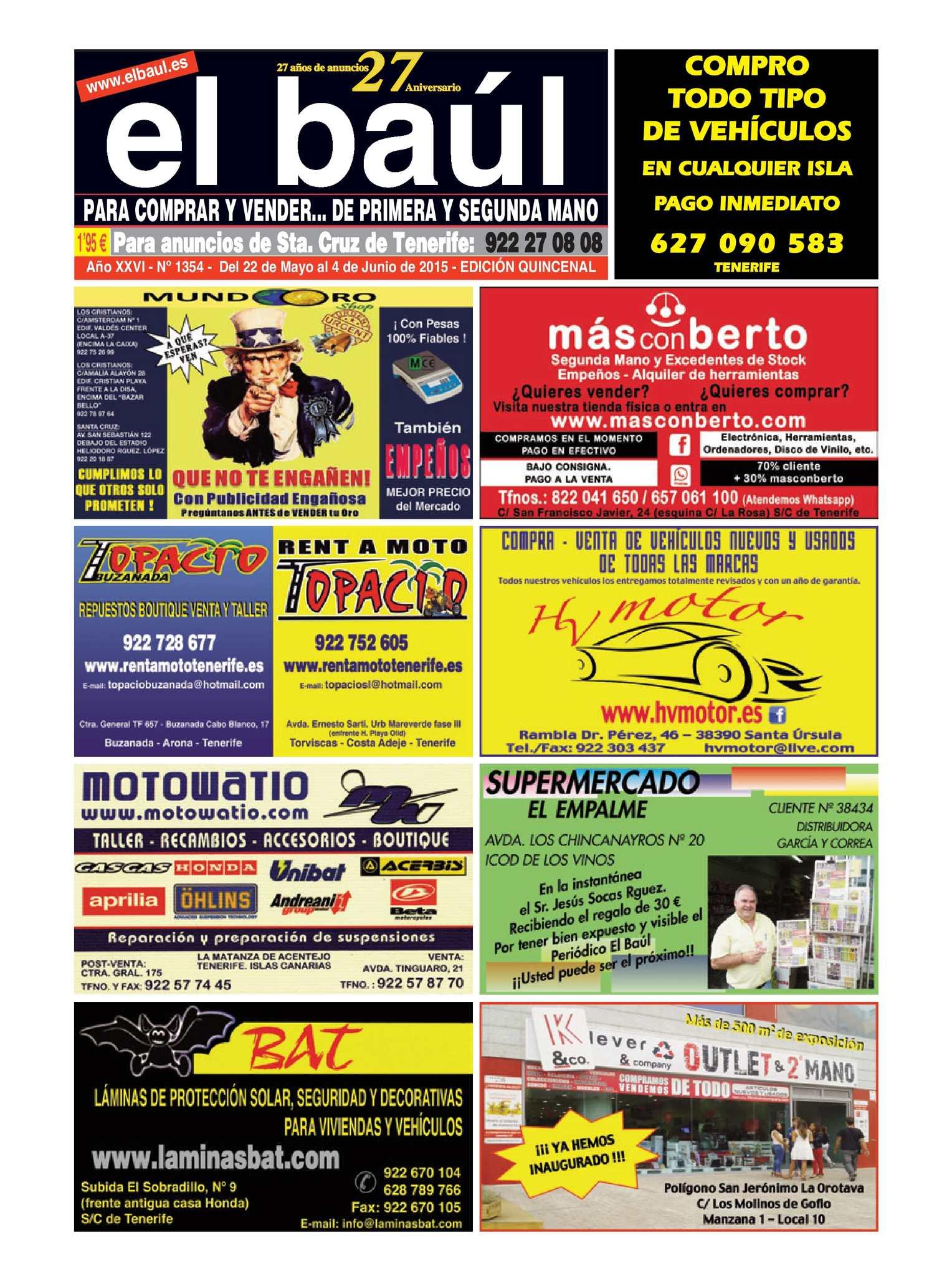 Calaméo - Periódico el Baúl, primera y segunda mano
