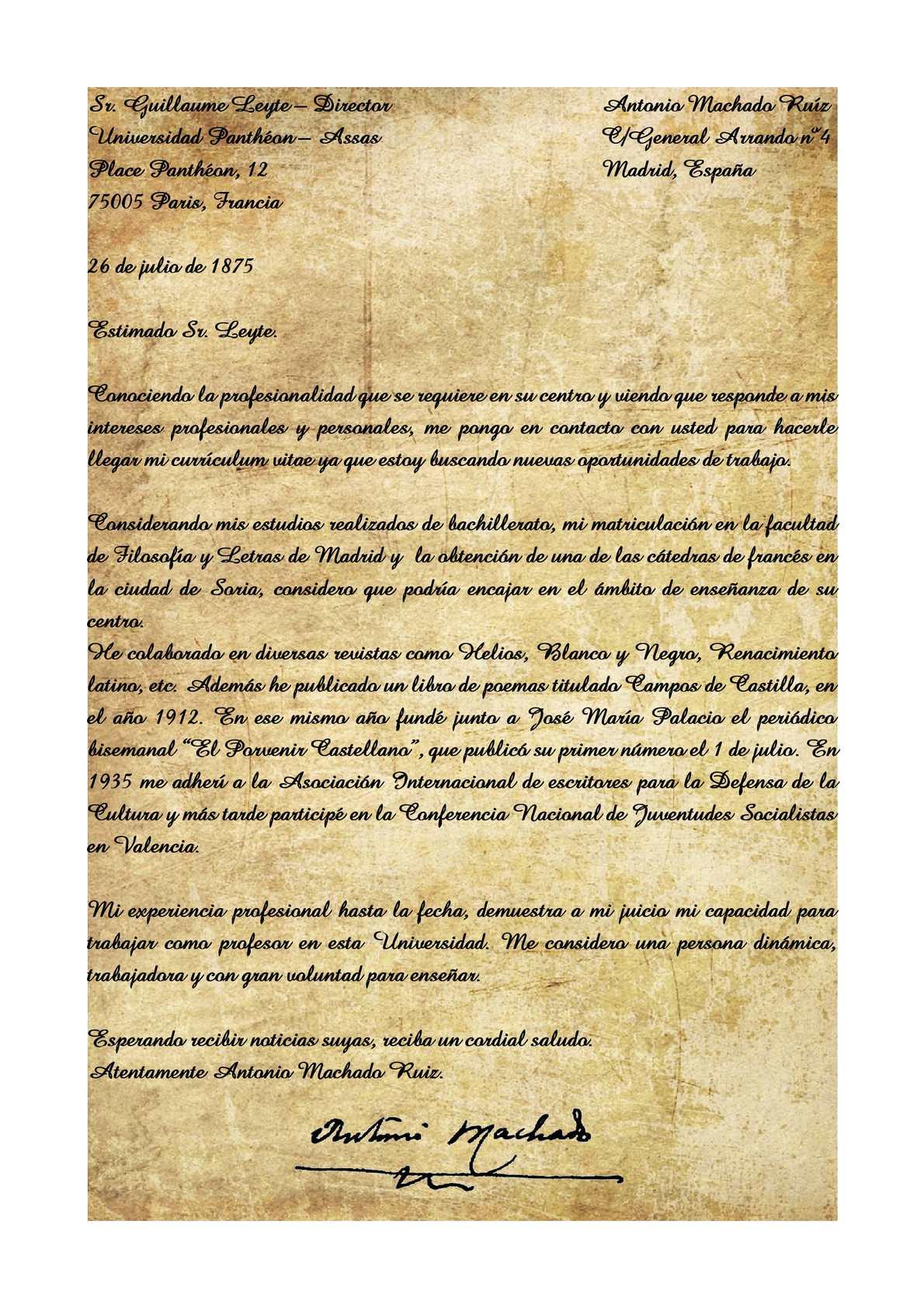 Calaméo - Carta De Presentación