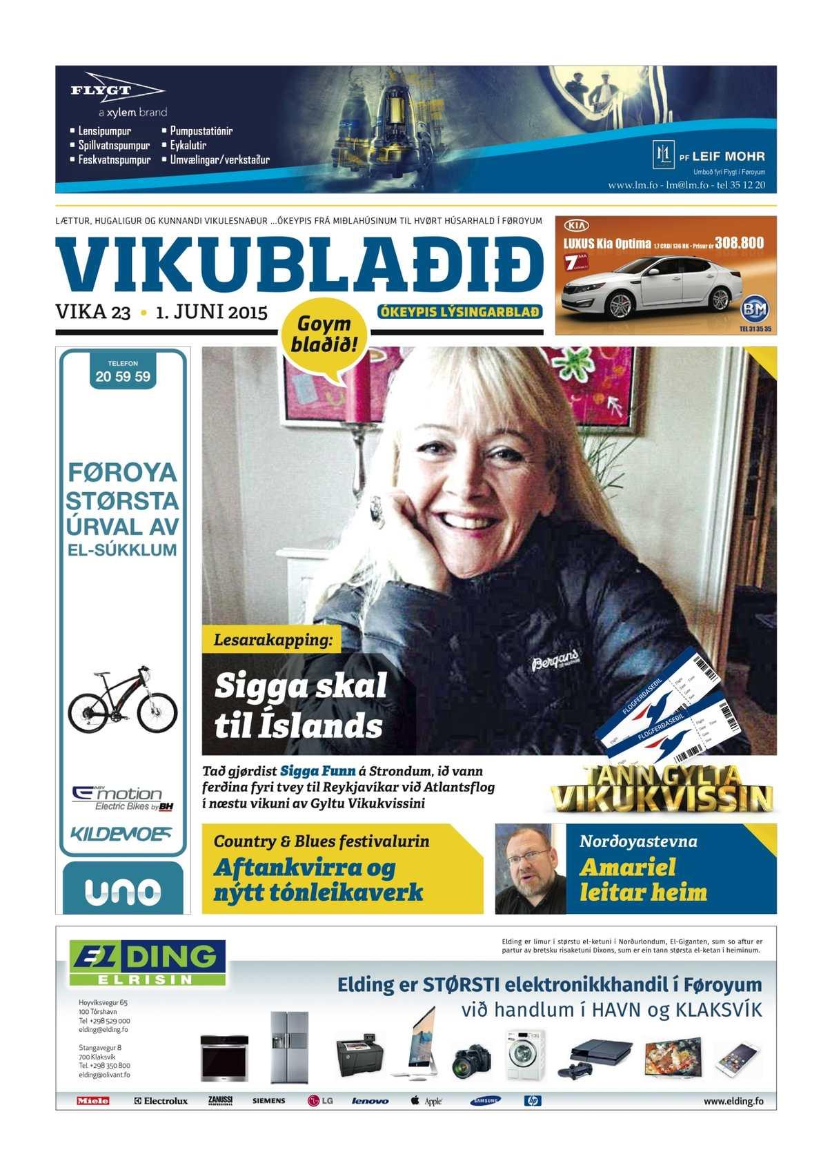 Vikublaðið 1. juni 2015
