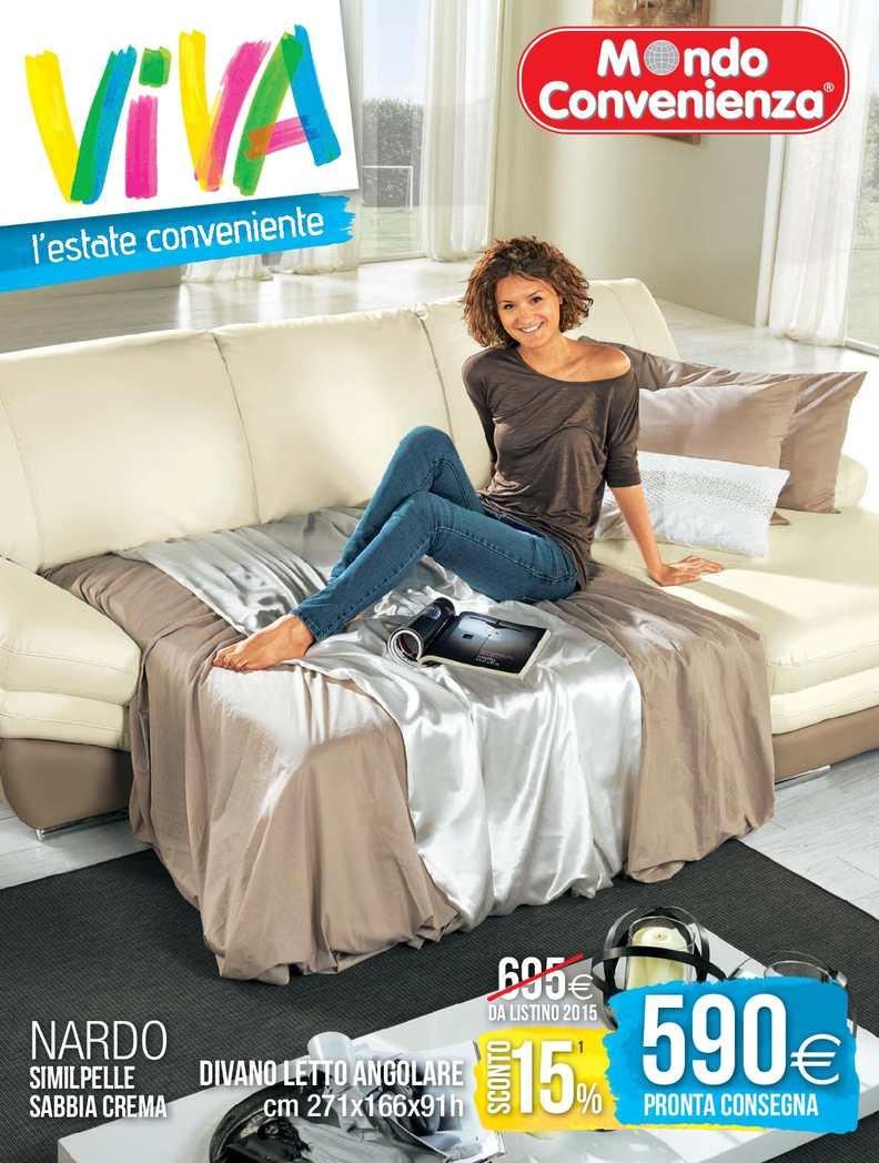 Calam o catalogo mondo convenienza estate divani 2015 for Catalogo mondo convenienza divani