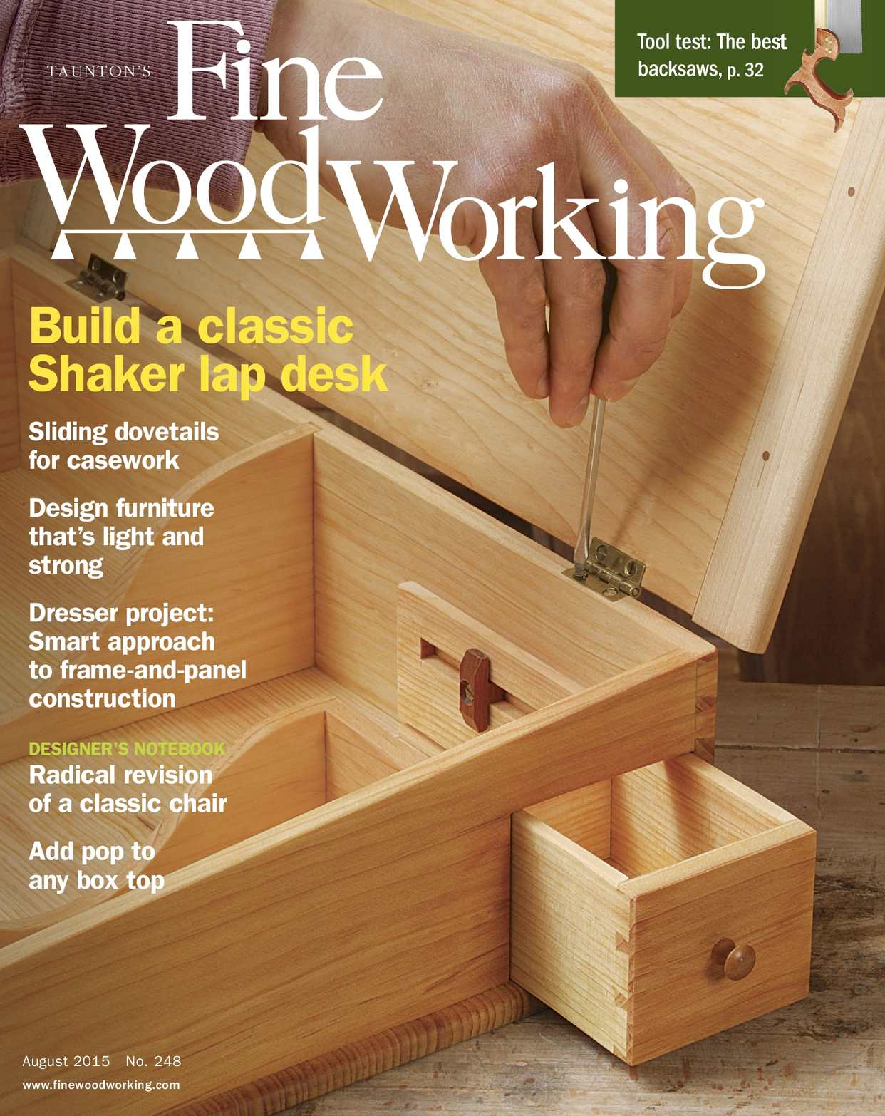 Fine Woodworking #248 Preview Issue PDF Pages