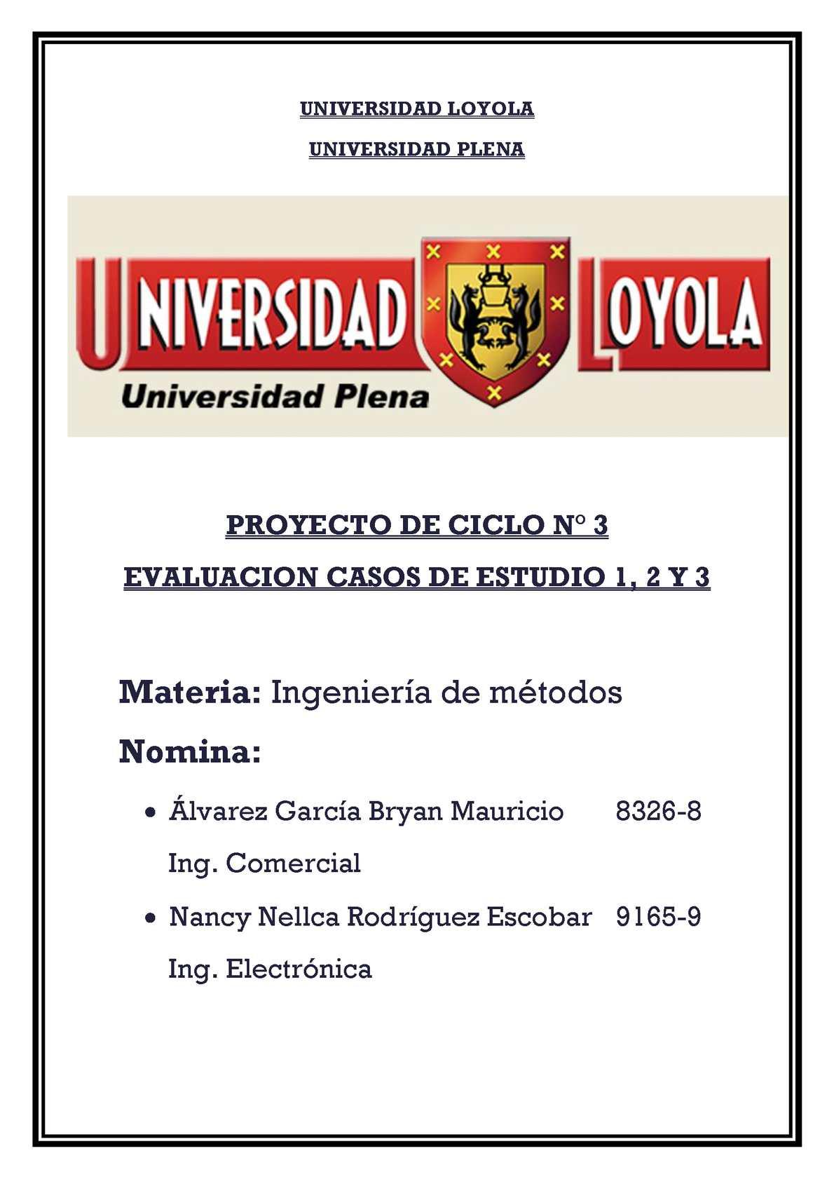 Proyecto Ciclo 3
