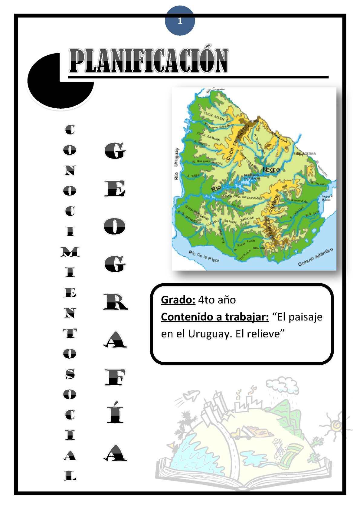 Planificación, Área del C. Social, Geografía