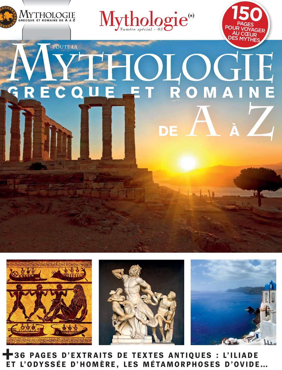 Toute la Mythologie Grecque et Romaines de A à Z