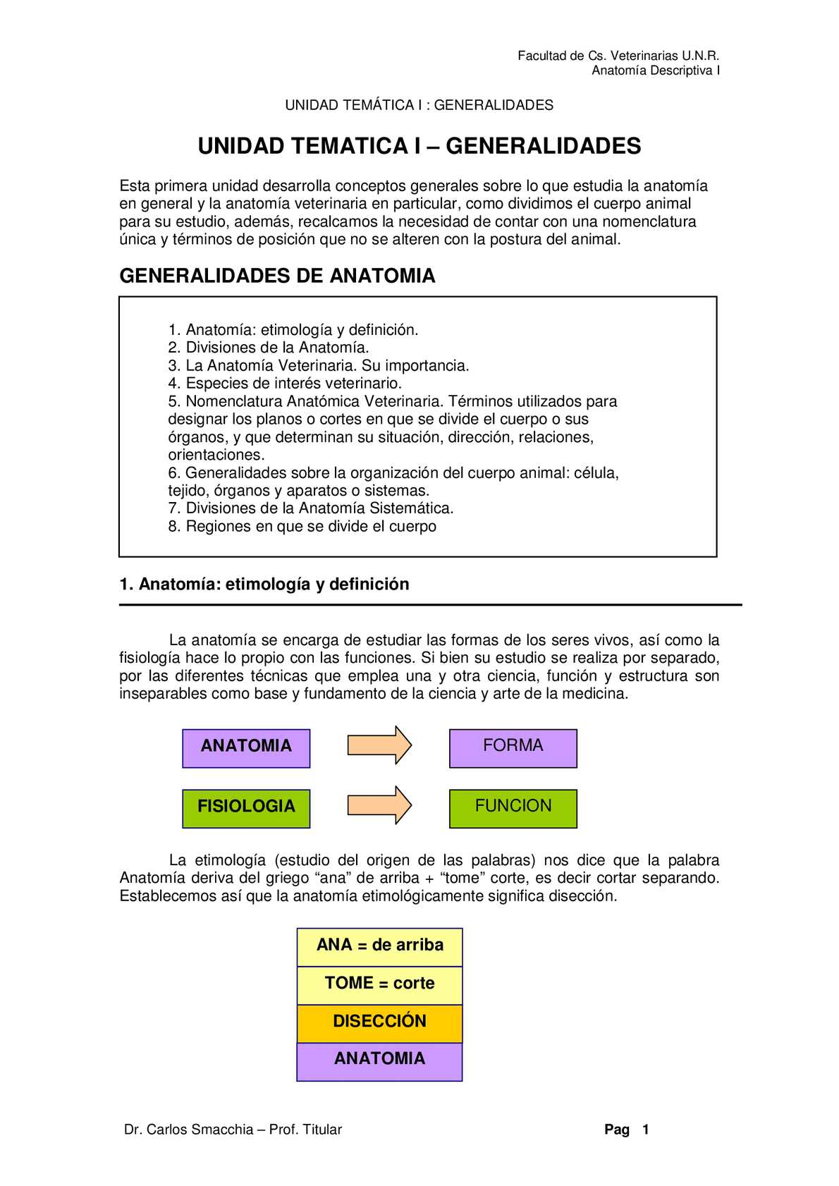 Calaméo - Unidad Temática I - Generalidades