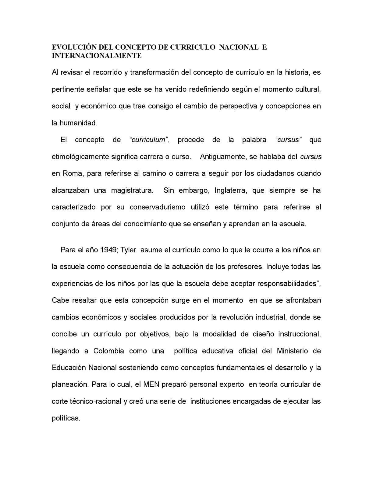Calaméo - Evolución Del Concepto De Curriculo Nacional E ...