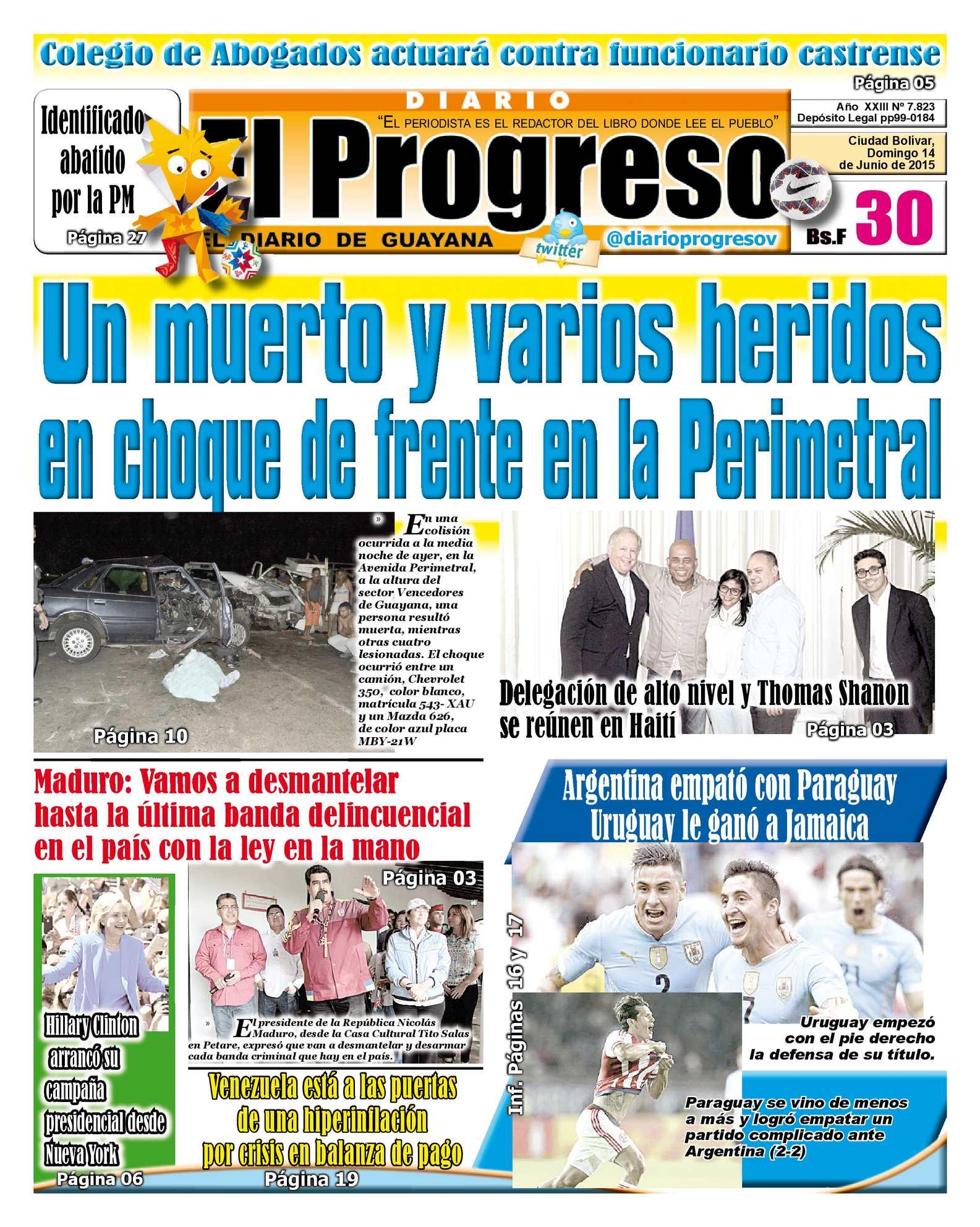 Calaméo - DiarioelprogresoEDICIÓNDIGITAL 14-06-2015
