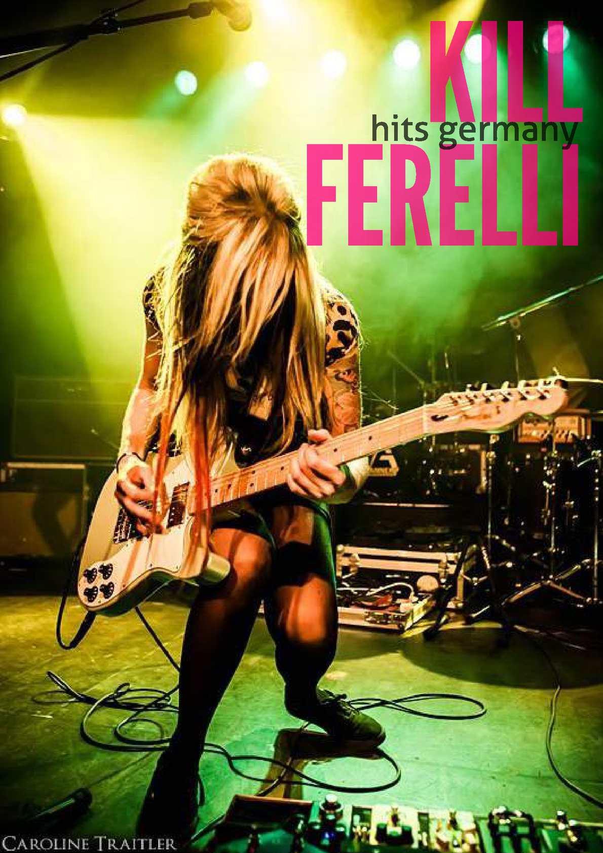 """Music Project  """" Kill Ferelli """""""