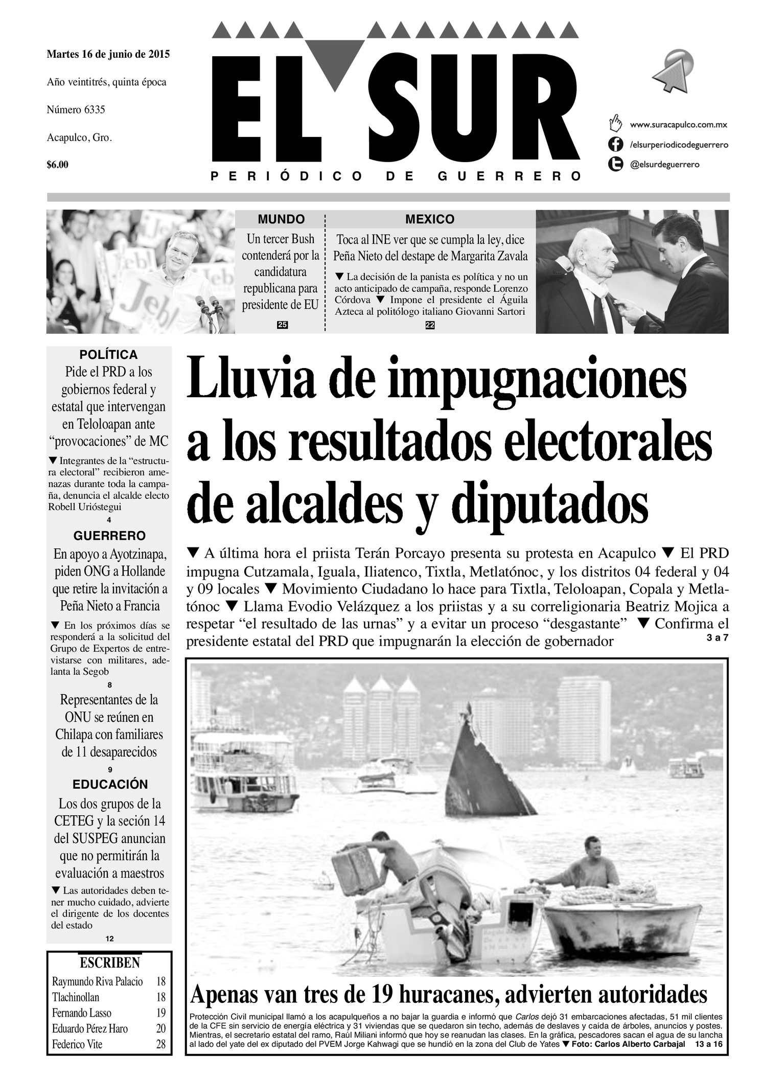 Calaméo - El Sur Martes 16062015