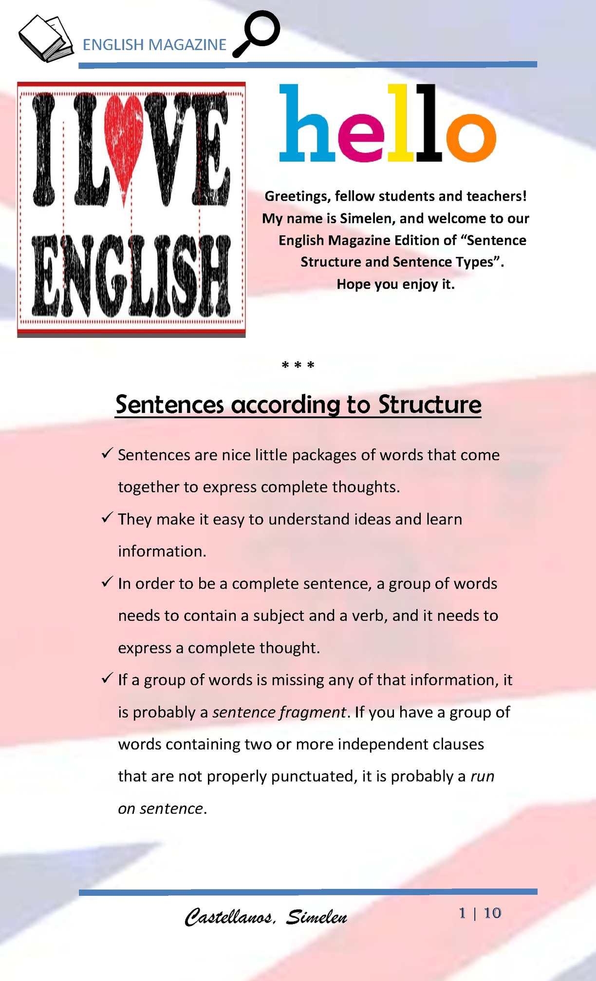 Calamo english magazine sentences by simelen m4hsunfo