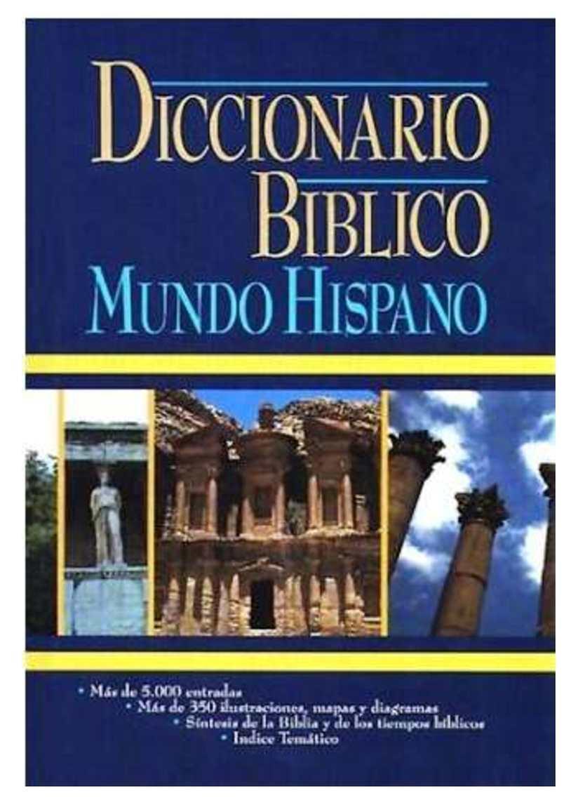 Diccionario Bíblico Mundo Hispano Tomo 1