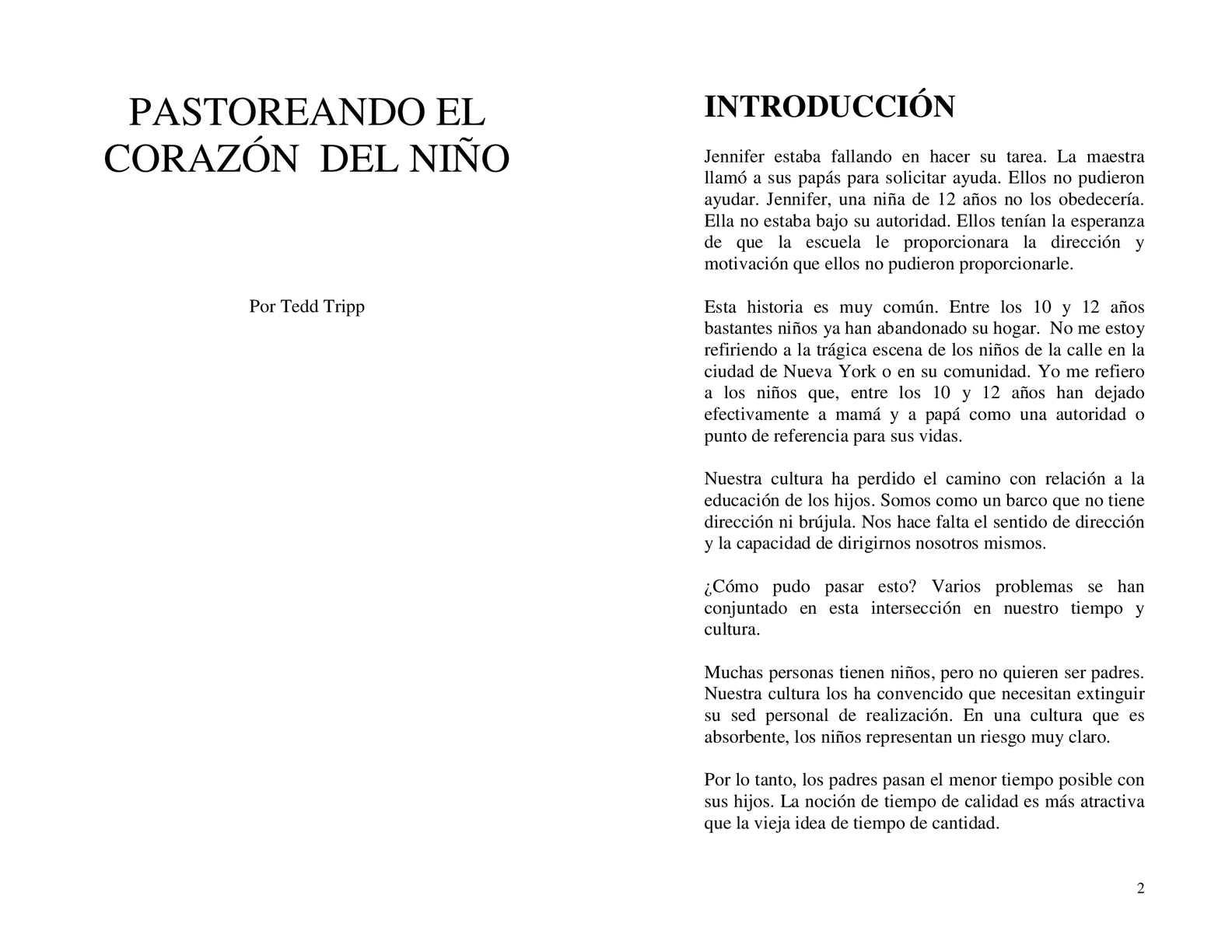 Calaméo - Pastoreando El Corazon De su hijo