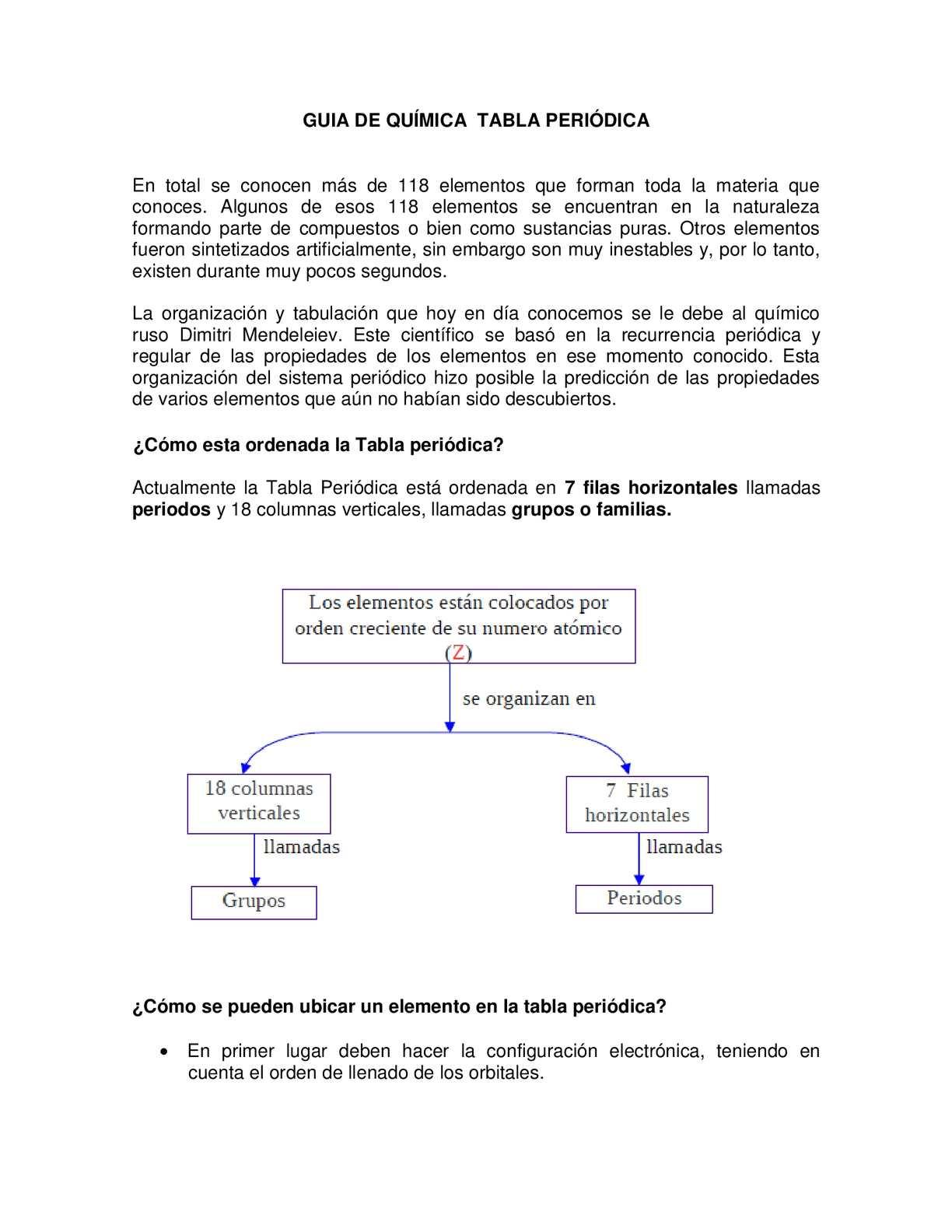 Calamo guia de qumica tabla peridica urtaz Choice Image