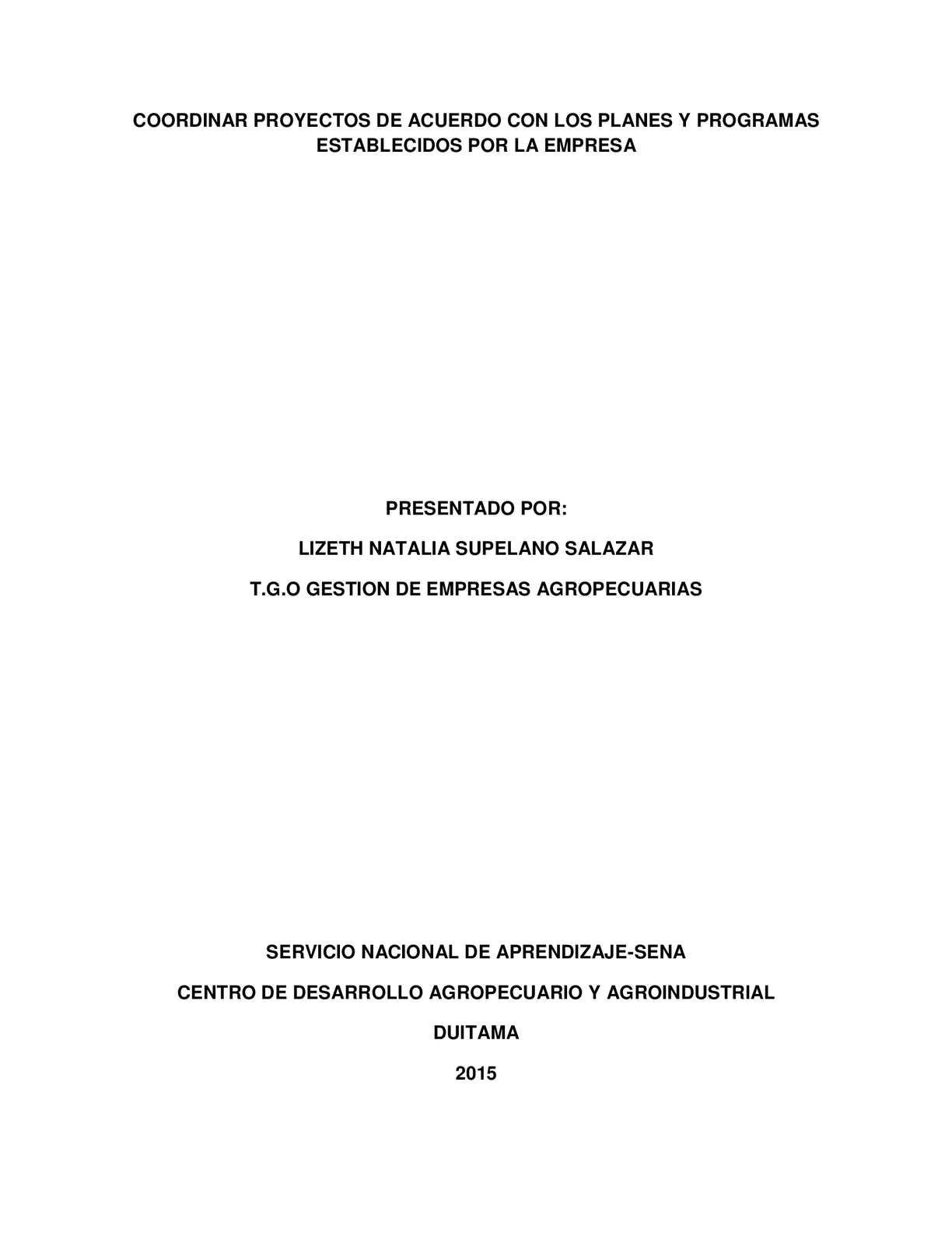 Ensayo Proceso Administrativo Y Actividades Guia Coordinar Proyectos