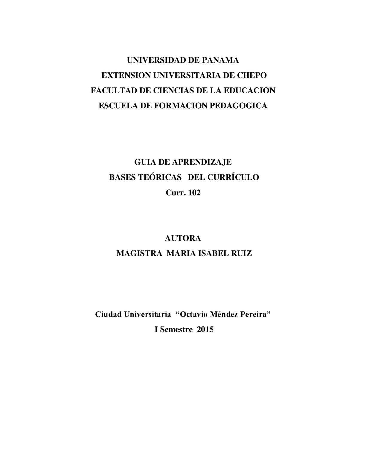 Calaméo - Modulo Bases Teoricas Del Curriculo, Para Grabar En Cd ...