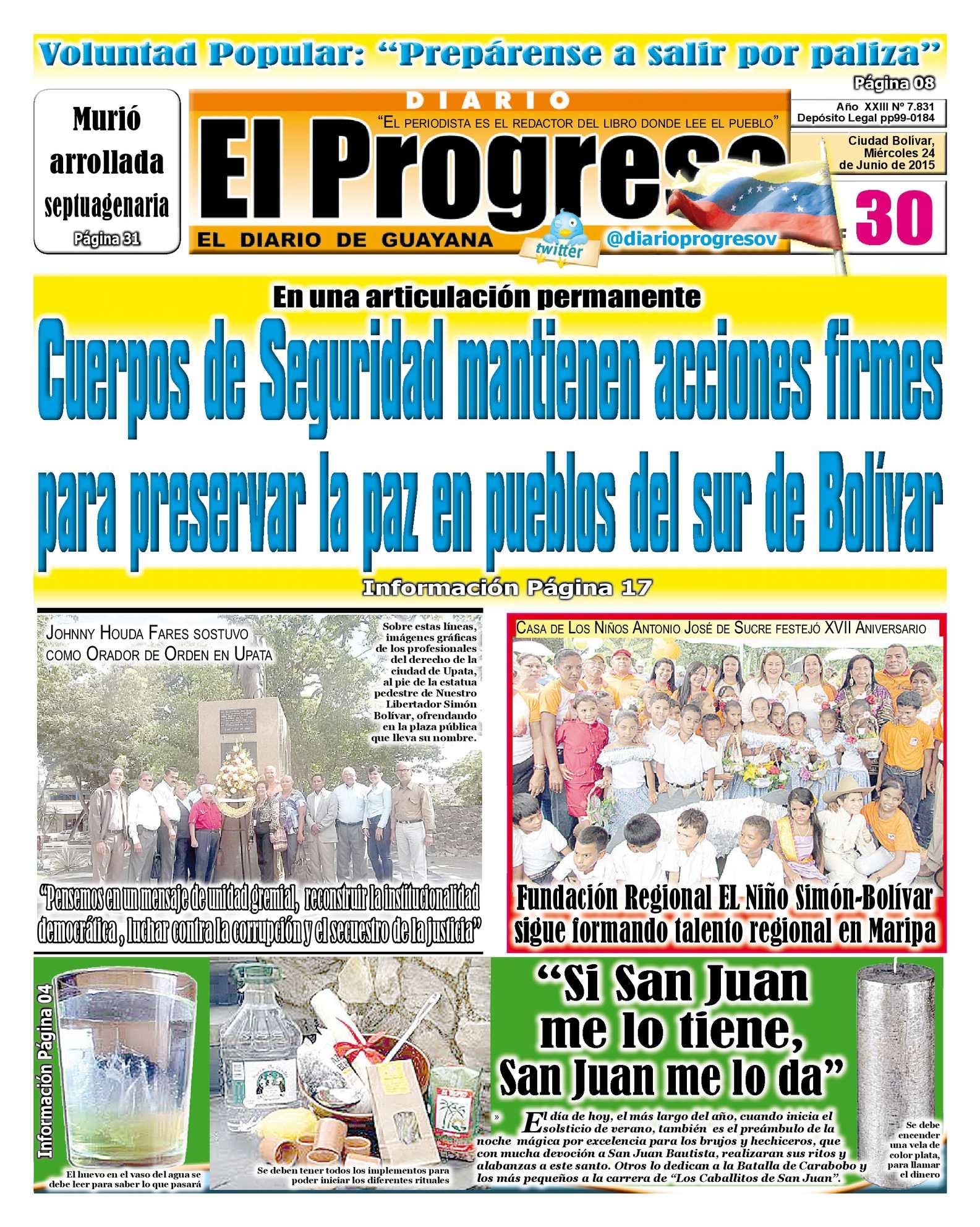 Calaméo - DiarioelprogresoEDICIÓNDIGITAL 24-06-2015