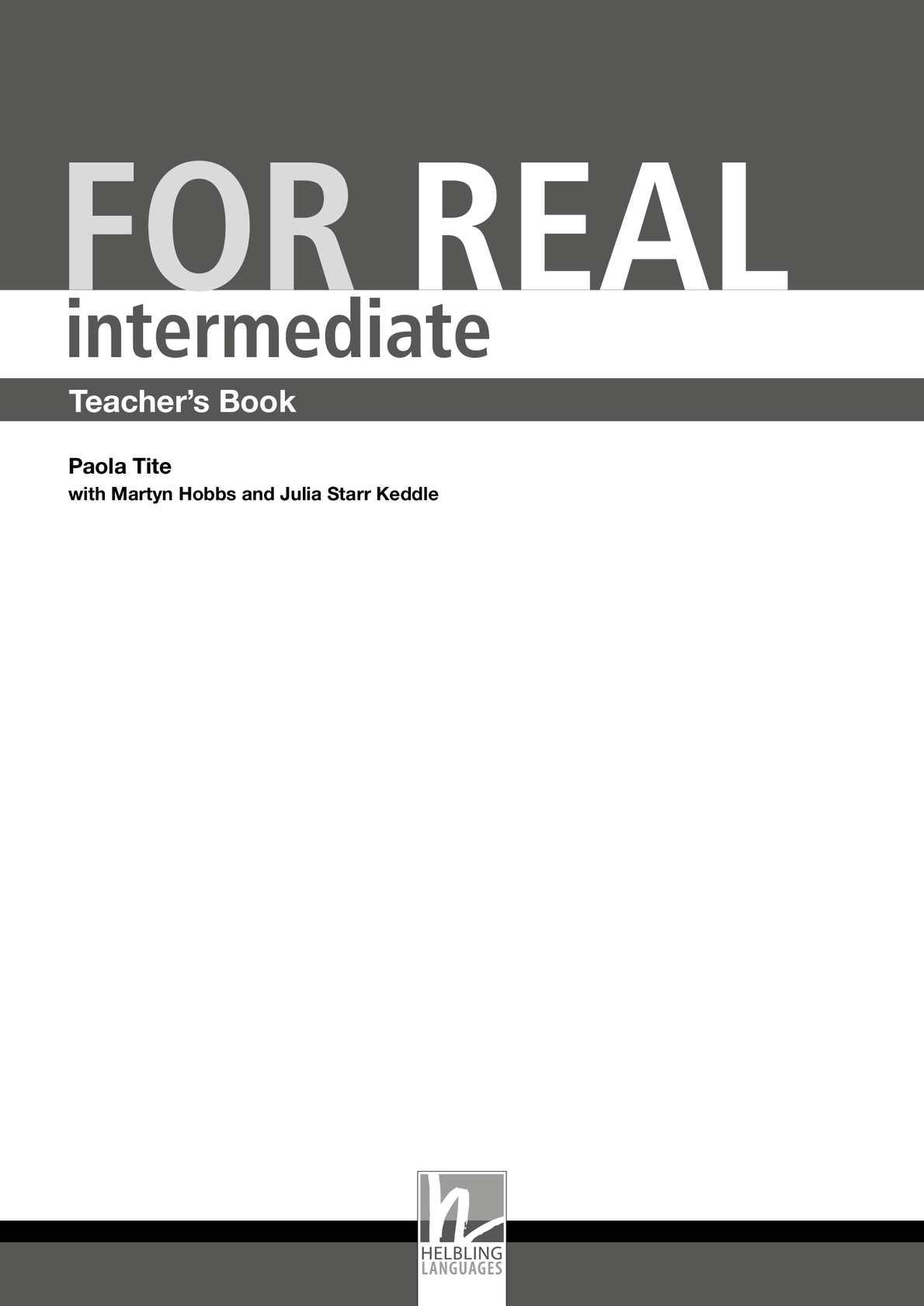 Calamo teacher books intermediate for real fandeluxe Choice Image
