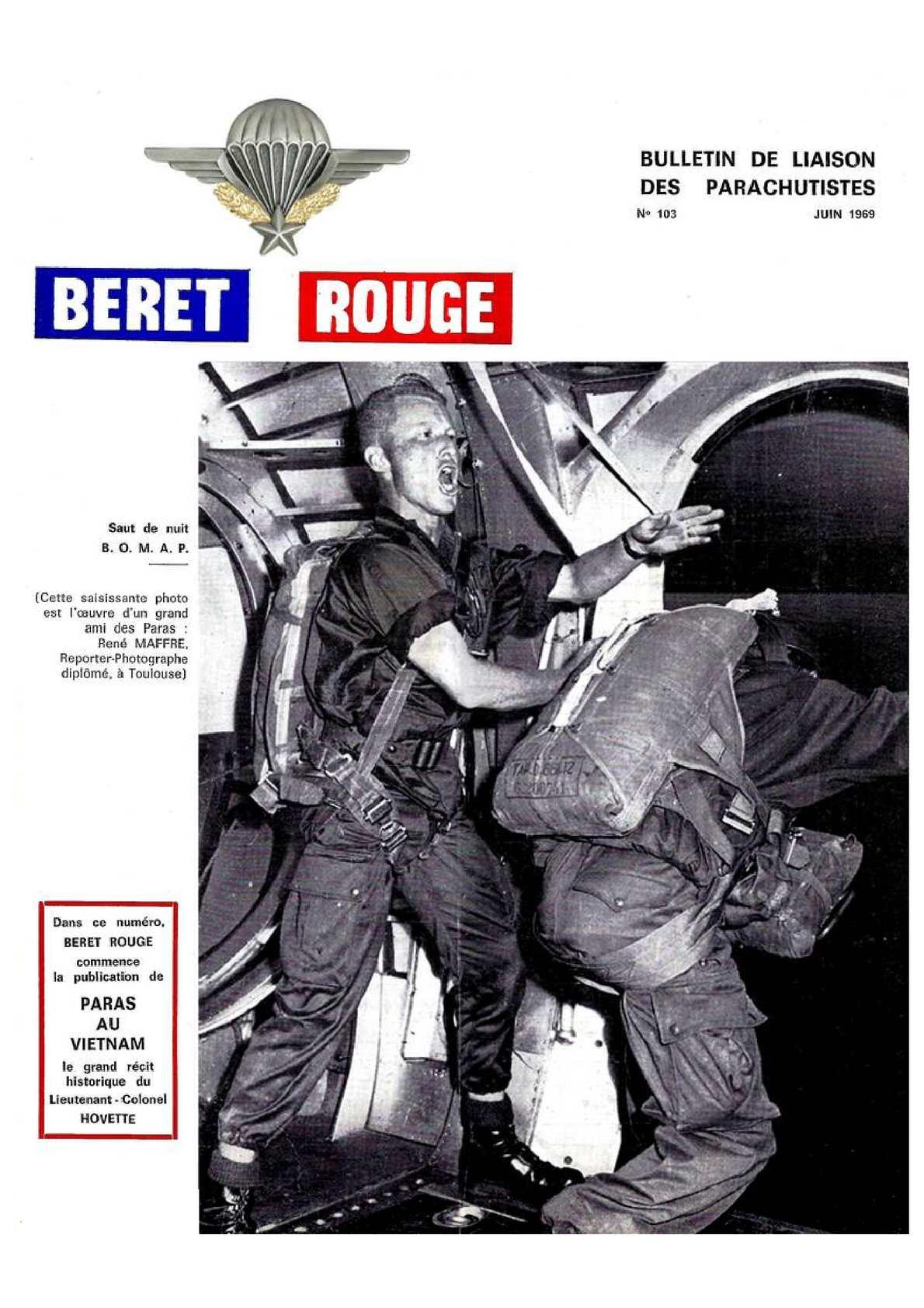 Beret Rouge N°103 Juin 1969