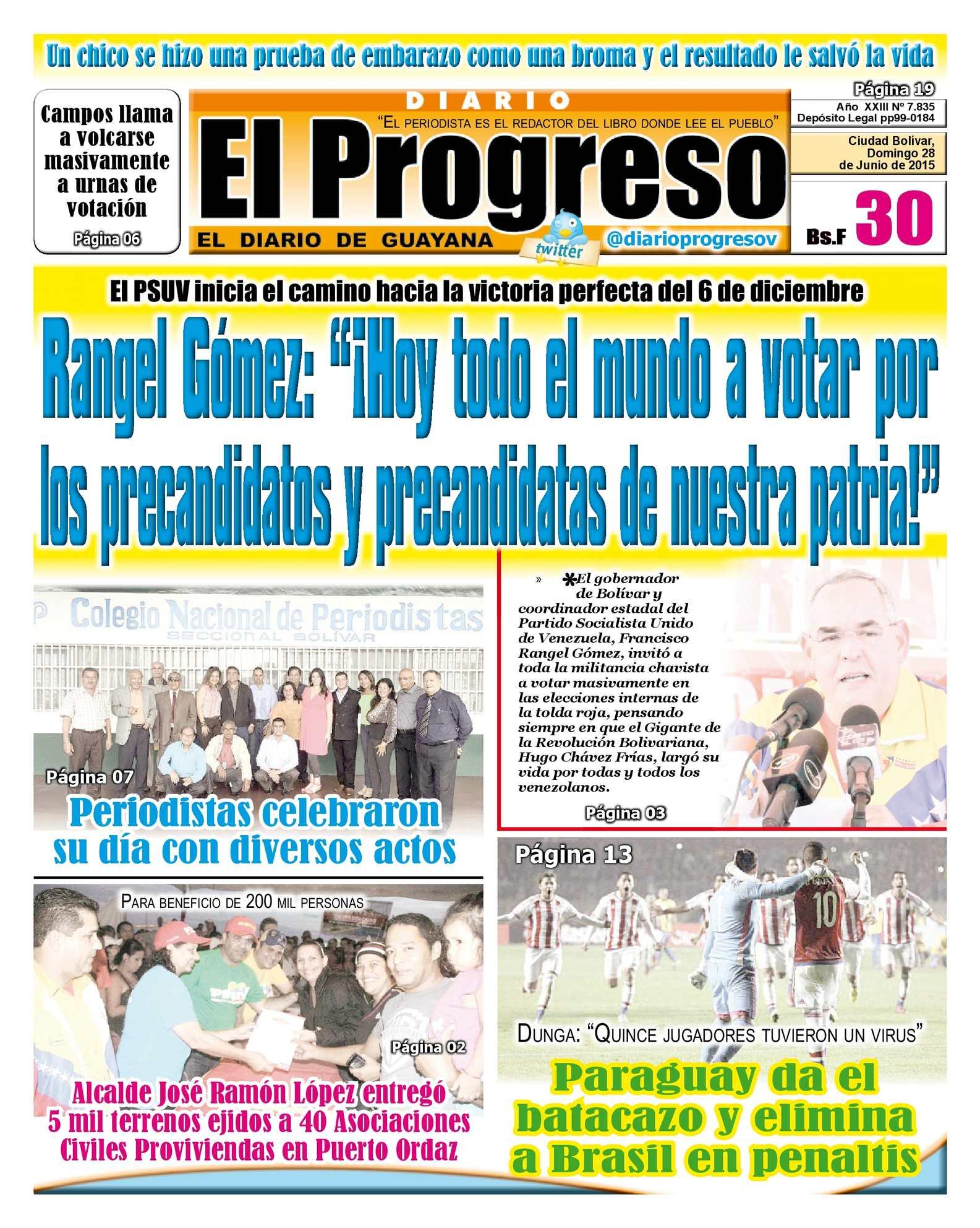 Calaméo - DiarioelprogresoEDICIÓNDIGITAL 28-06-2015