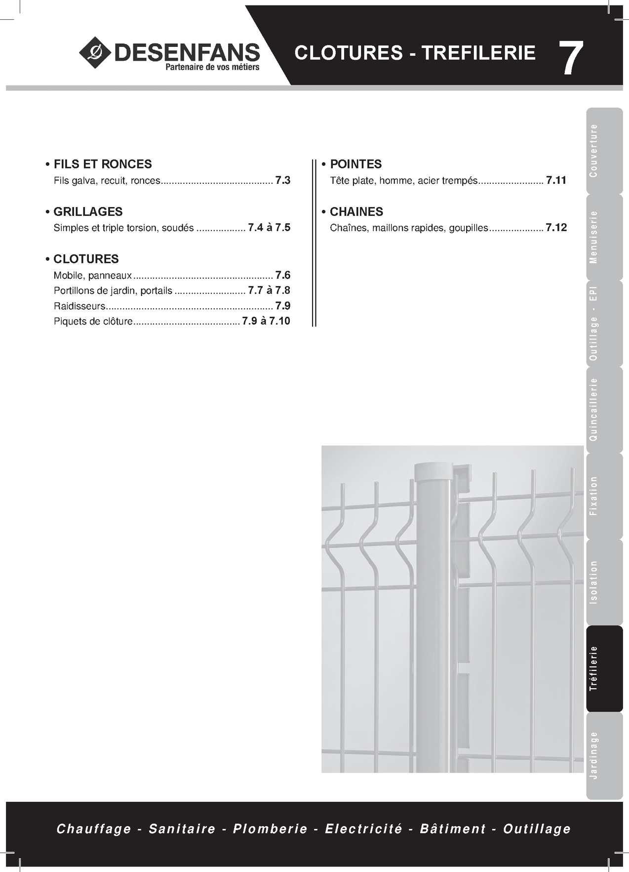 grillage 40x40x4. Black Bedroom Furniture Sets. Home Design Ideas
