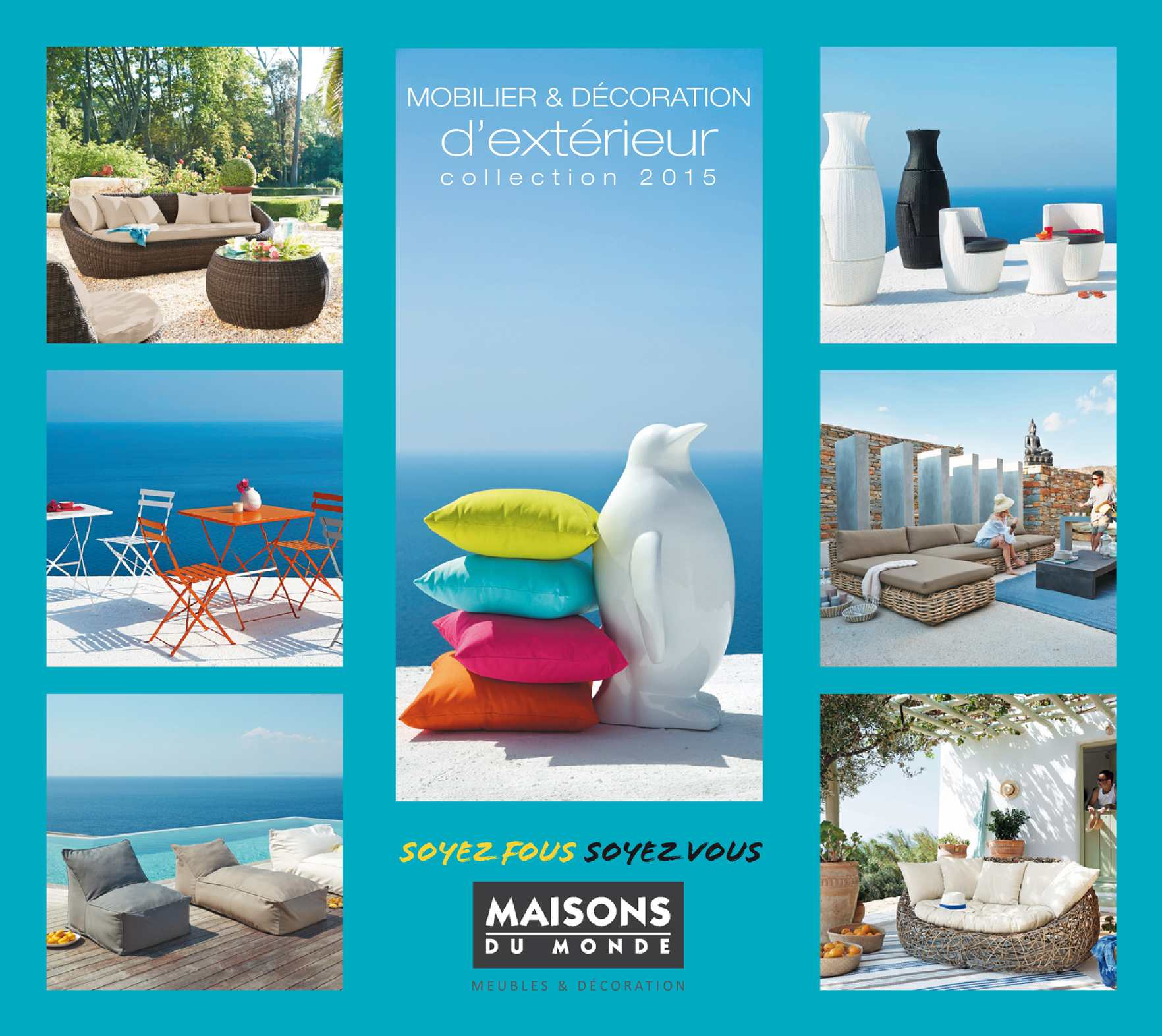 Calam o catalogo maisons du monde outdoor 2015 for Maison du monde outdoor