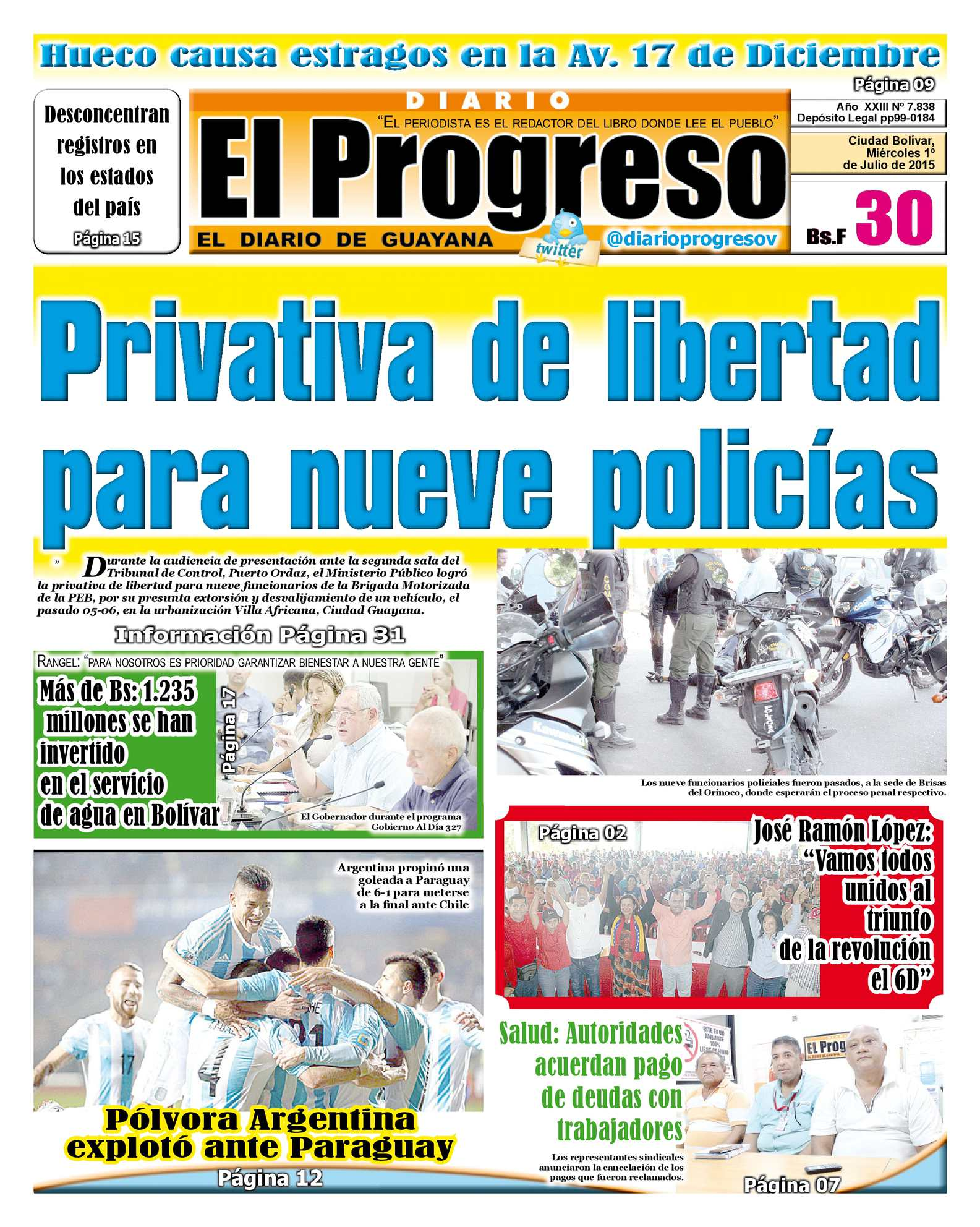 Calaméo - DiarioelprogresoEDICIÓNDIGITAL 01-07-2015