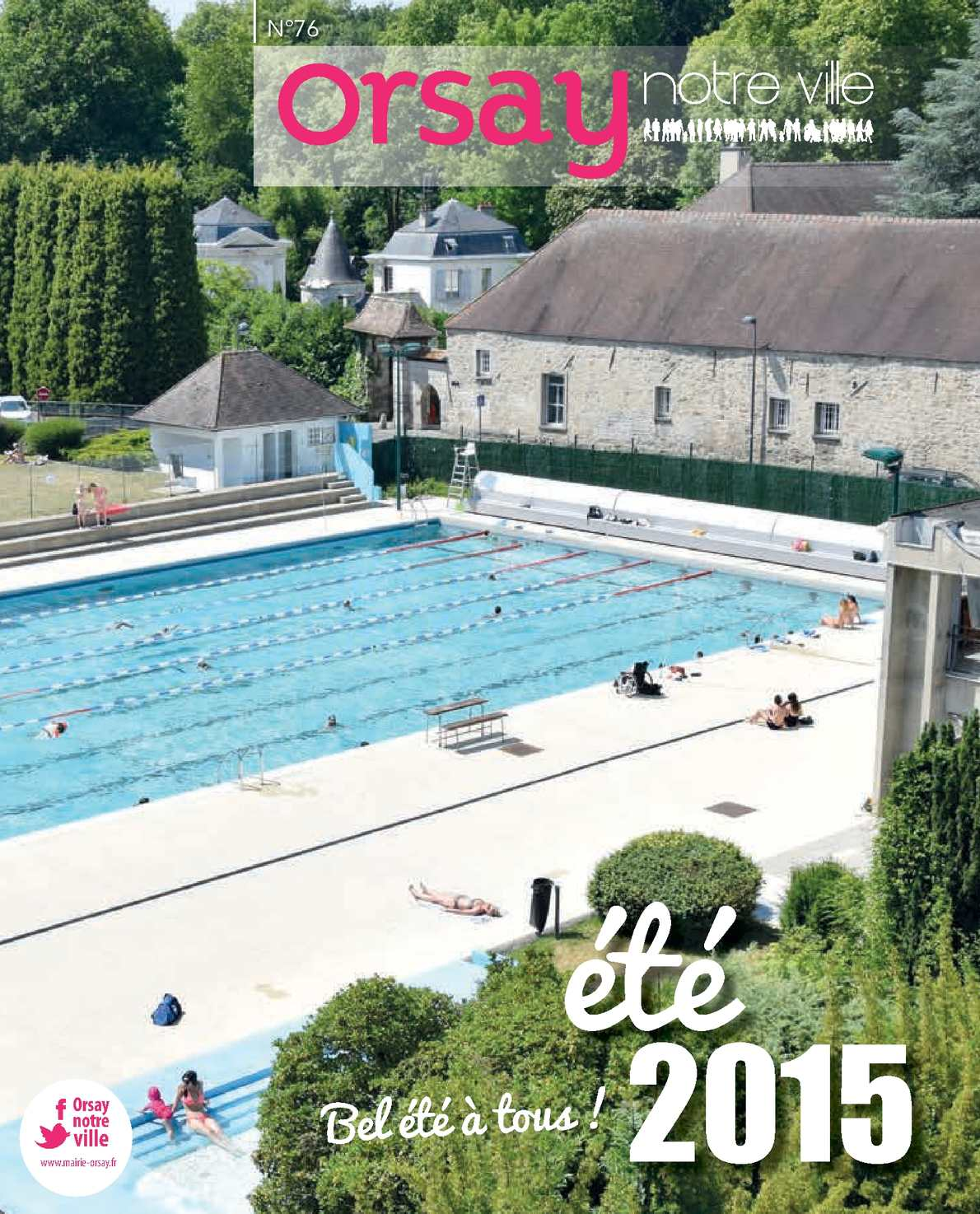 Calam o magazine orsay ete 2015 web for Piscine orsay