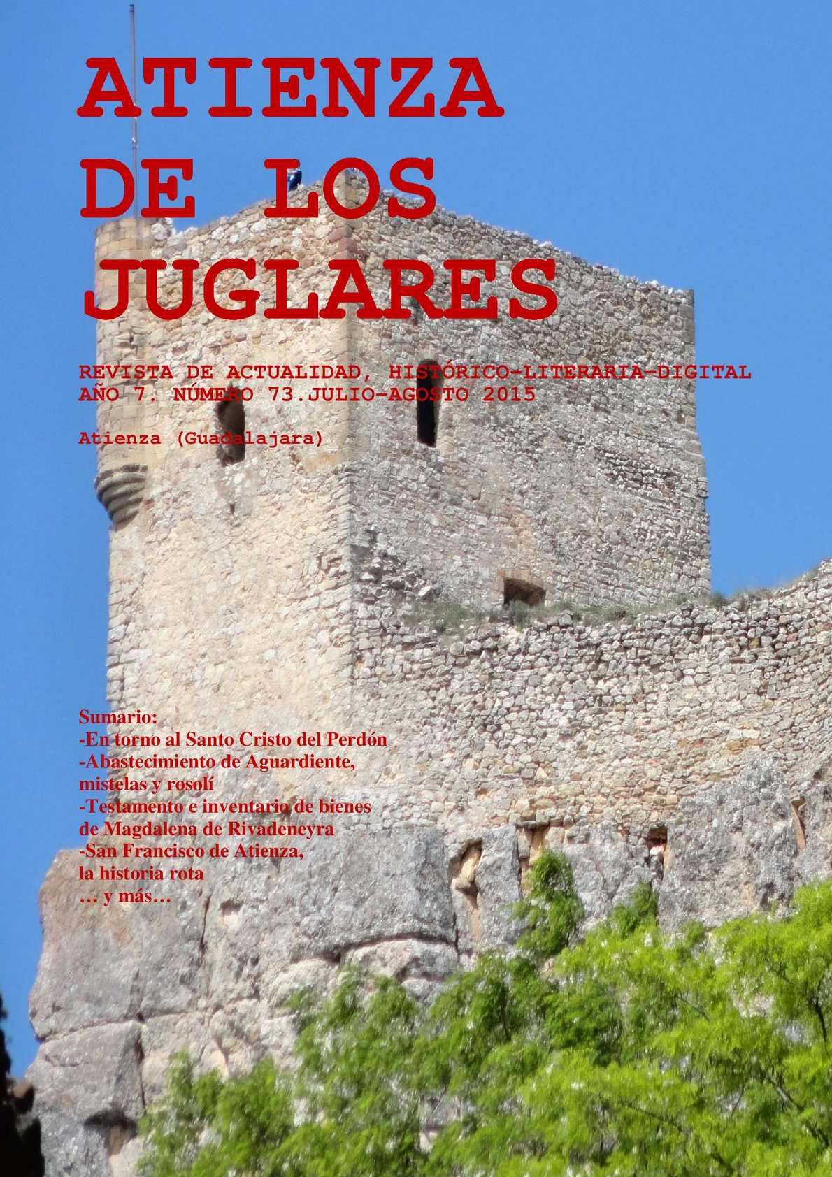 Atienza De Los Juglares Julio-Agosto 2015