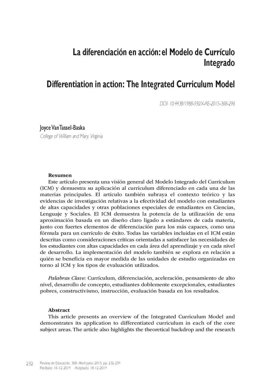 Calaméo - La diferenciación en acción