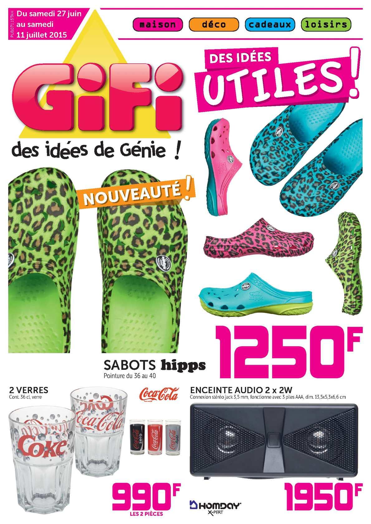 Calam U00e9o - Catalogue Gifi Tahiti