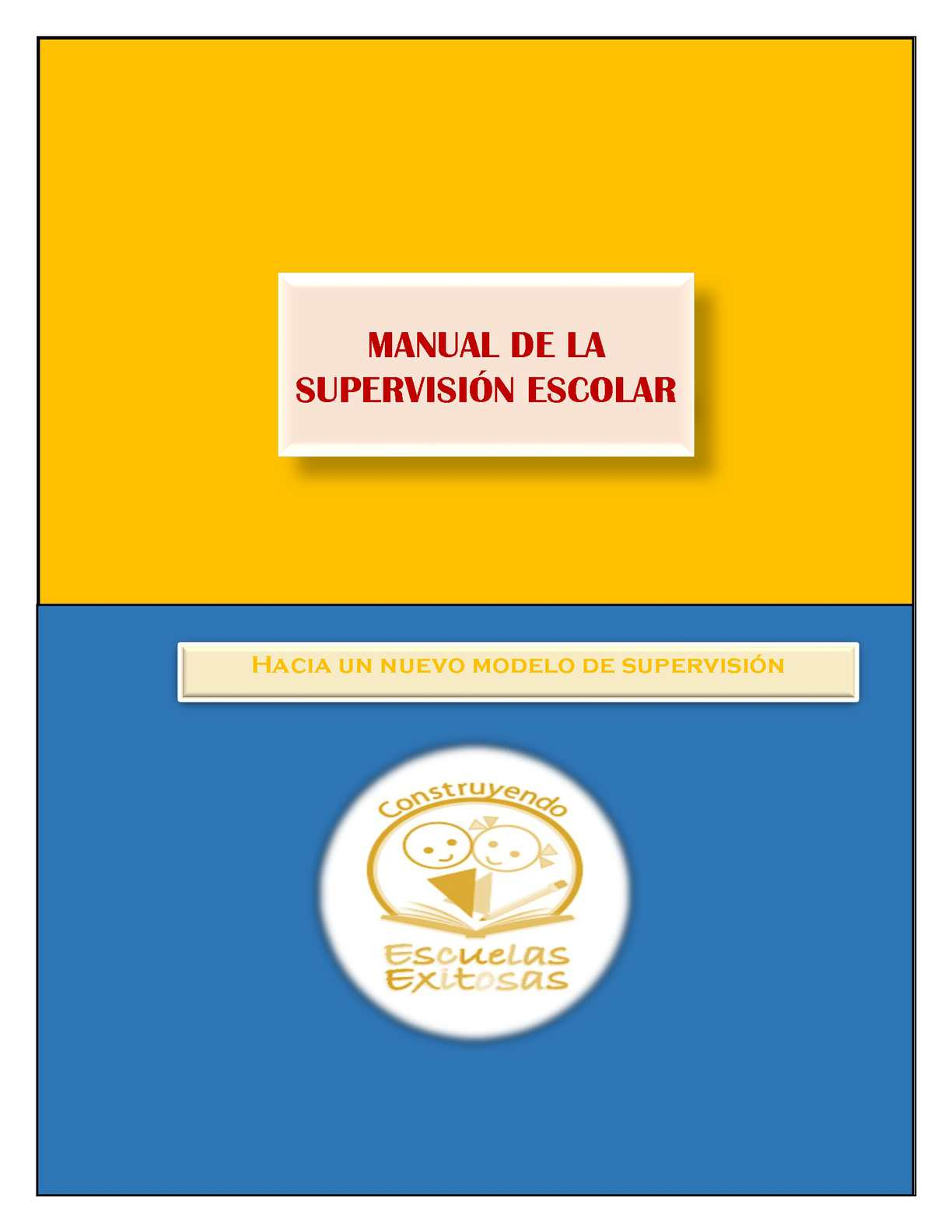 Calam o manual de la supervisi n escolar for Manual de acuicultura pdf
