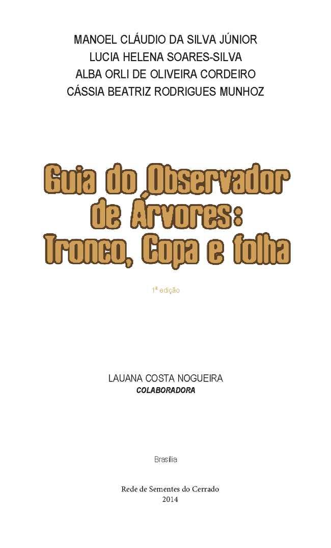 Guia Do Observador De áRvores
