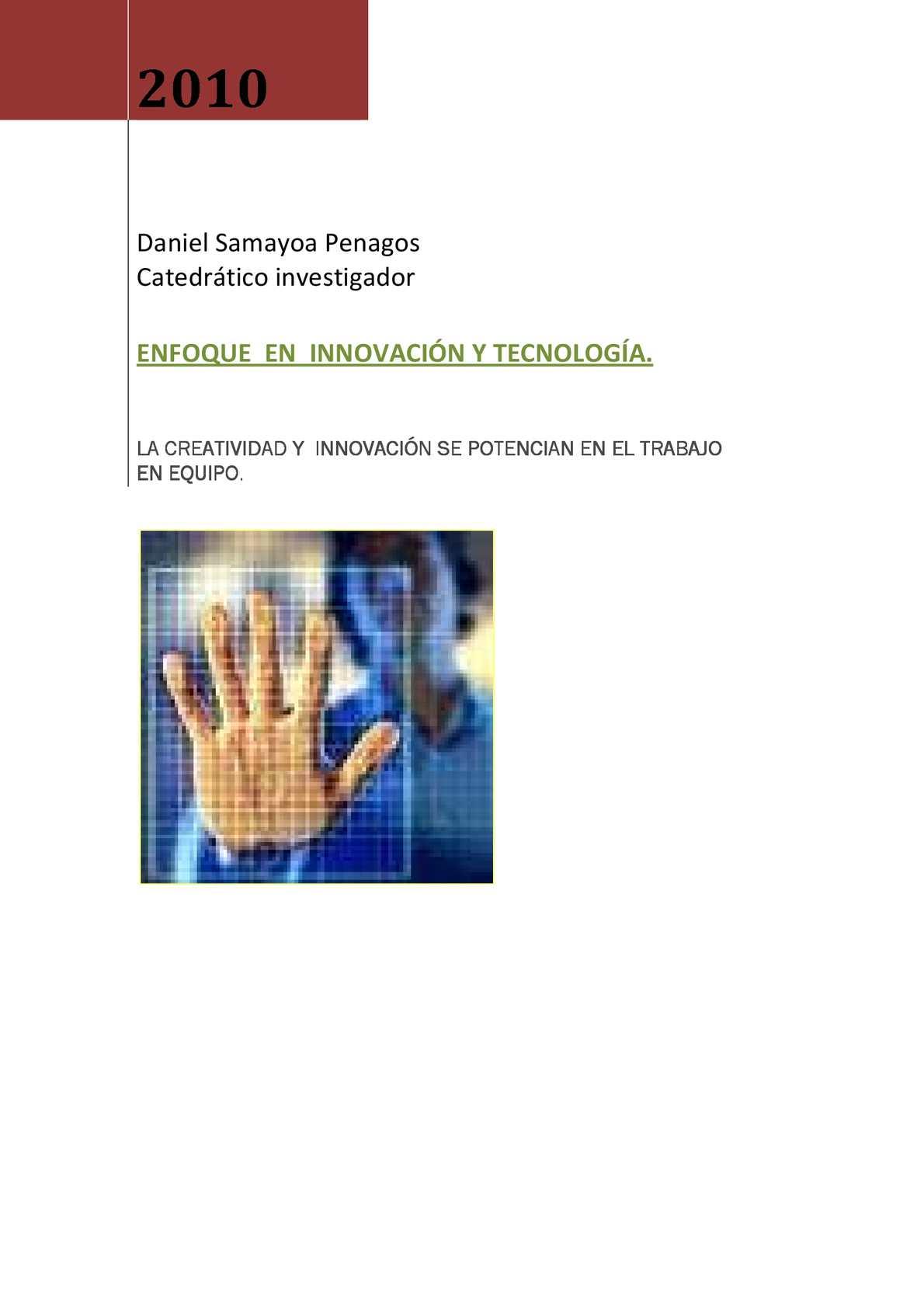 Calaméo - Enfoque En Innovación Y Tecnologìa