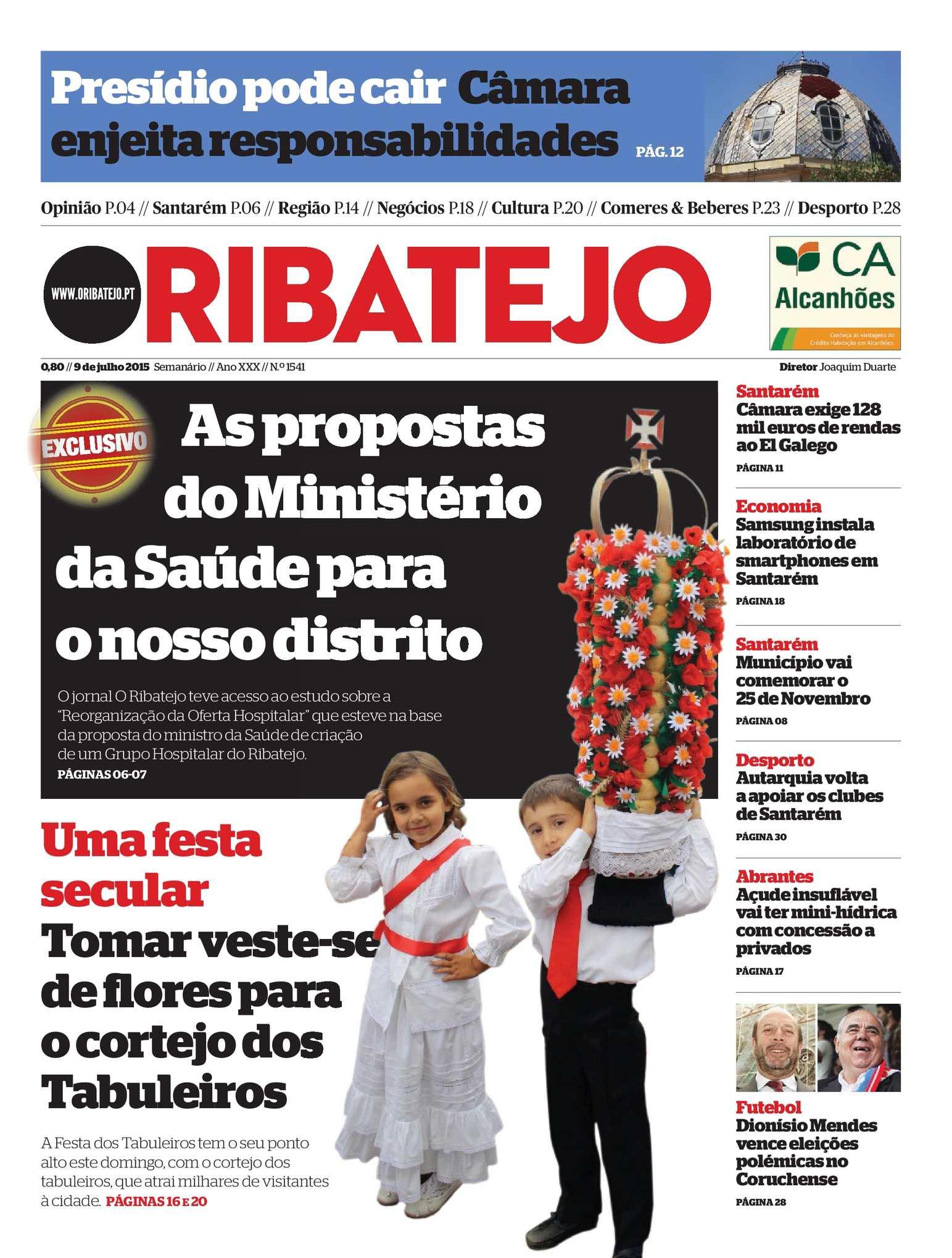 Calaméo - Edição 1541 do Jornal O Ribatejo - 09 de julho 2015 bb586e5b25