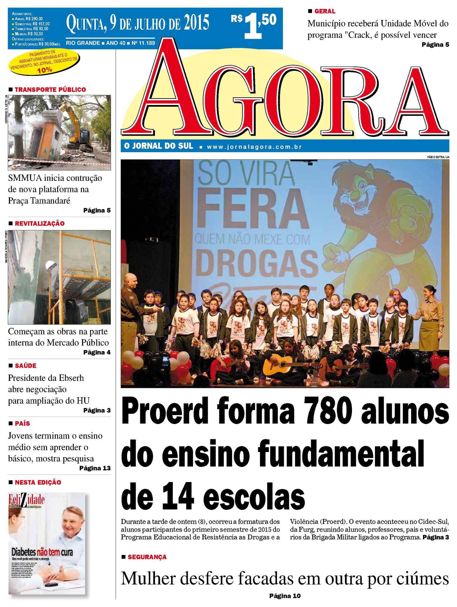 8e4c009bf62 Calaméo - Jornal Agora - Edição 11189 - 9 de Julho de 2015