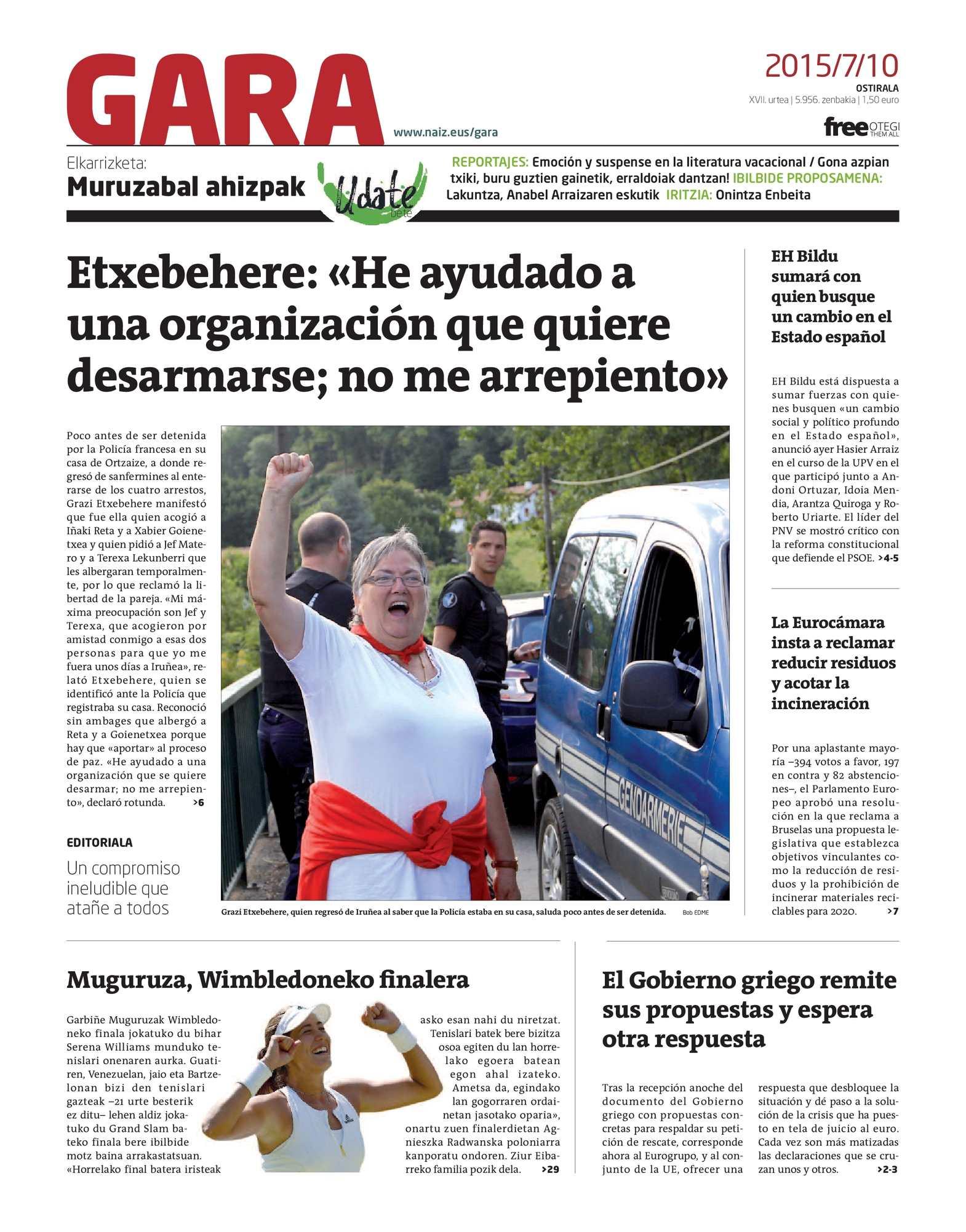 Calaméo - GARA 20150710