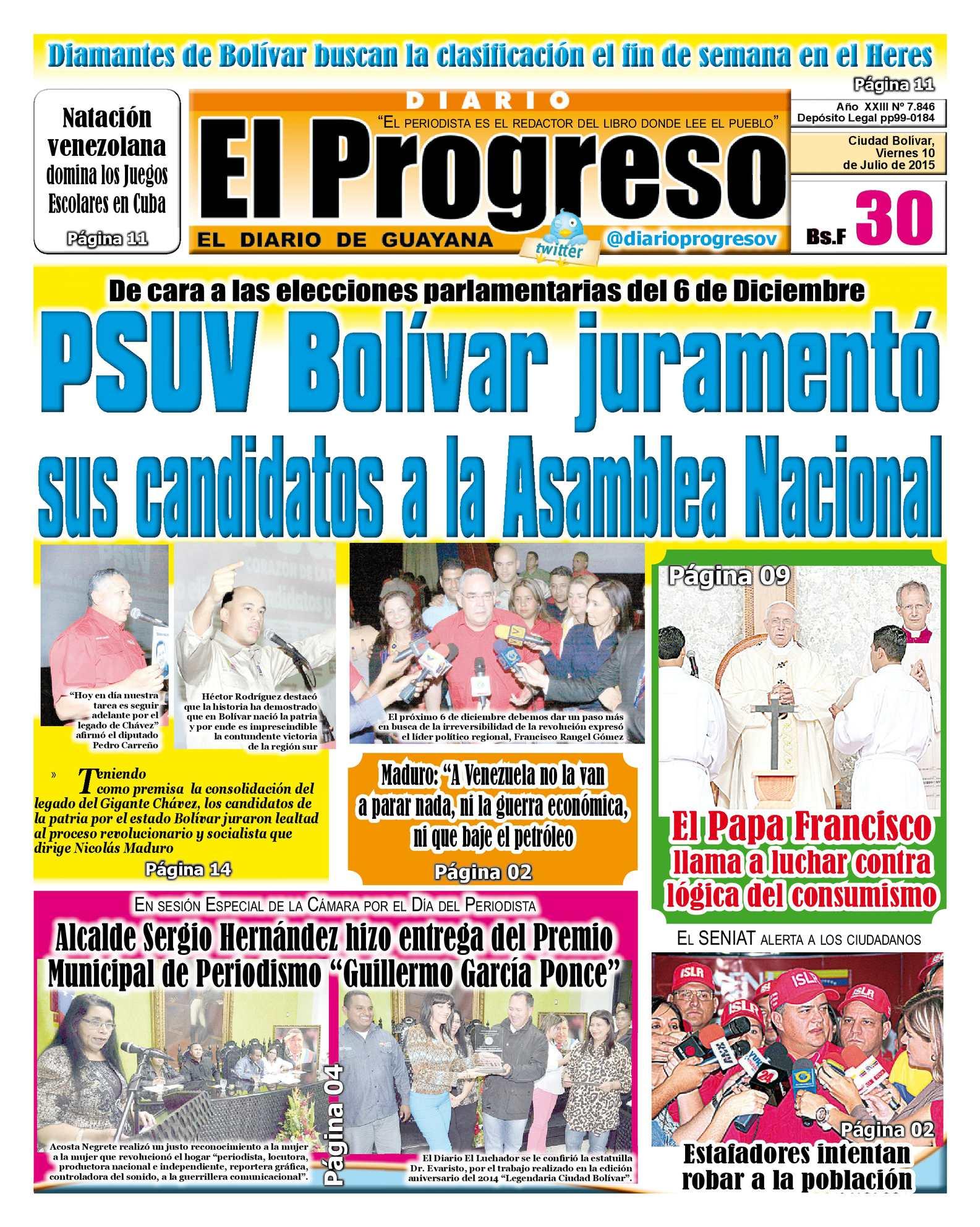 Calaméo - DiarioelprogresoEDICIÓNDIGITAL 10-07-2015