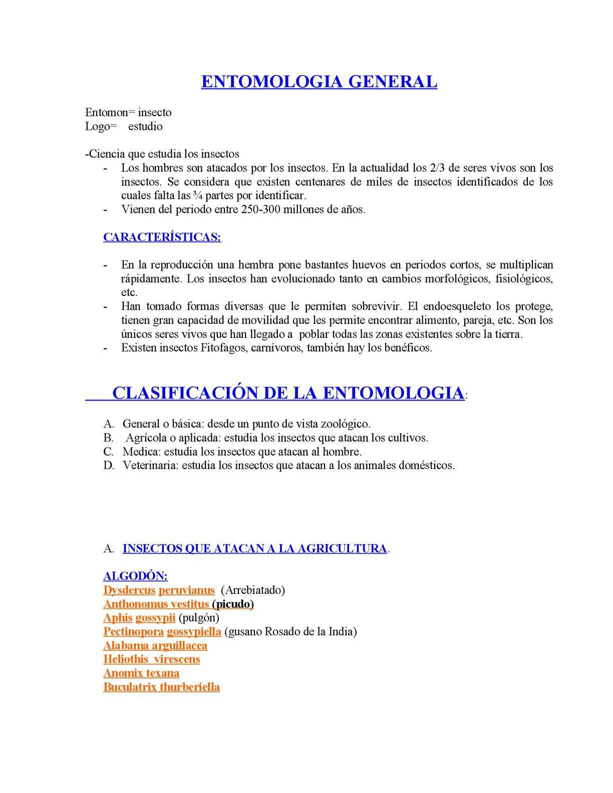 Calaméo - Curso Entomologia