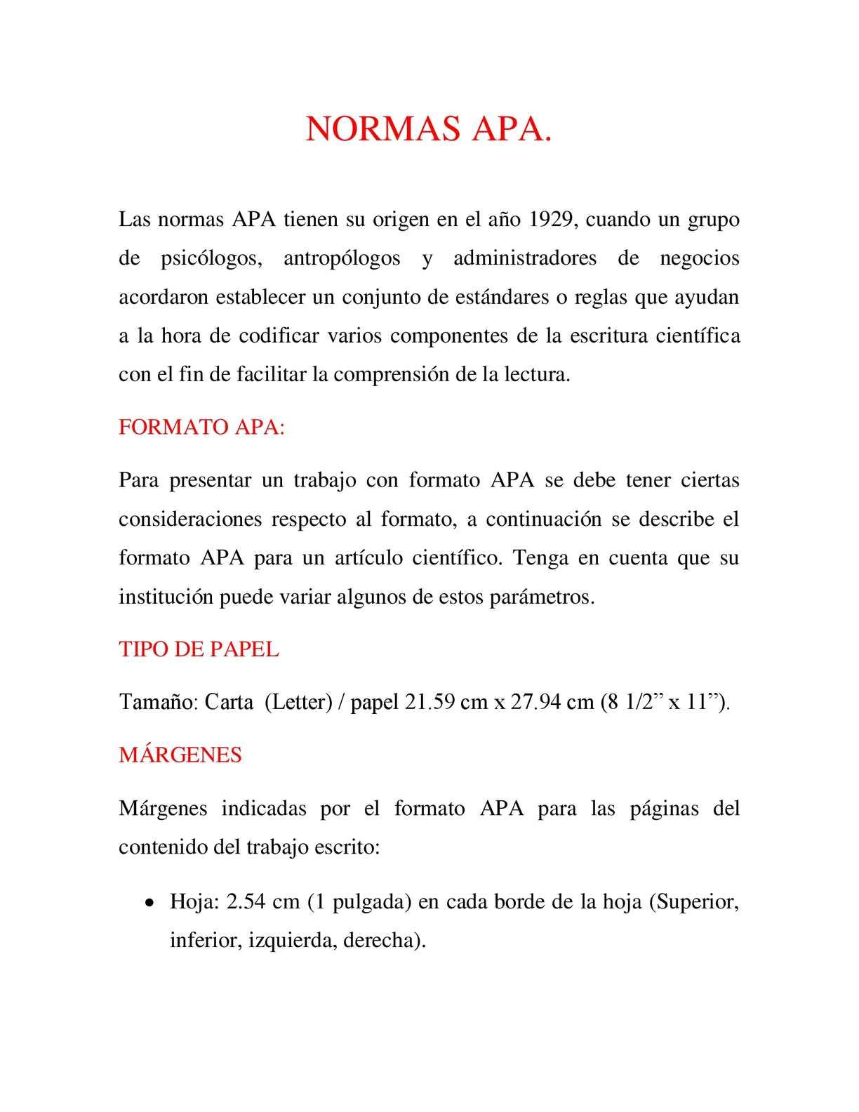 Excepcional Formato Apa Modelo - Ejemplo De Currículum Comercial ...