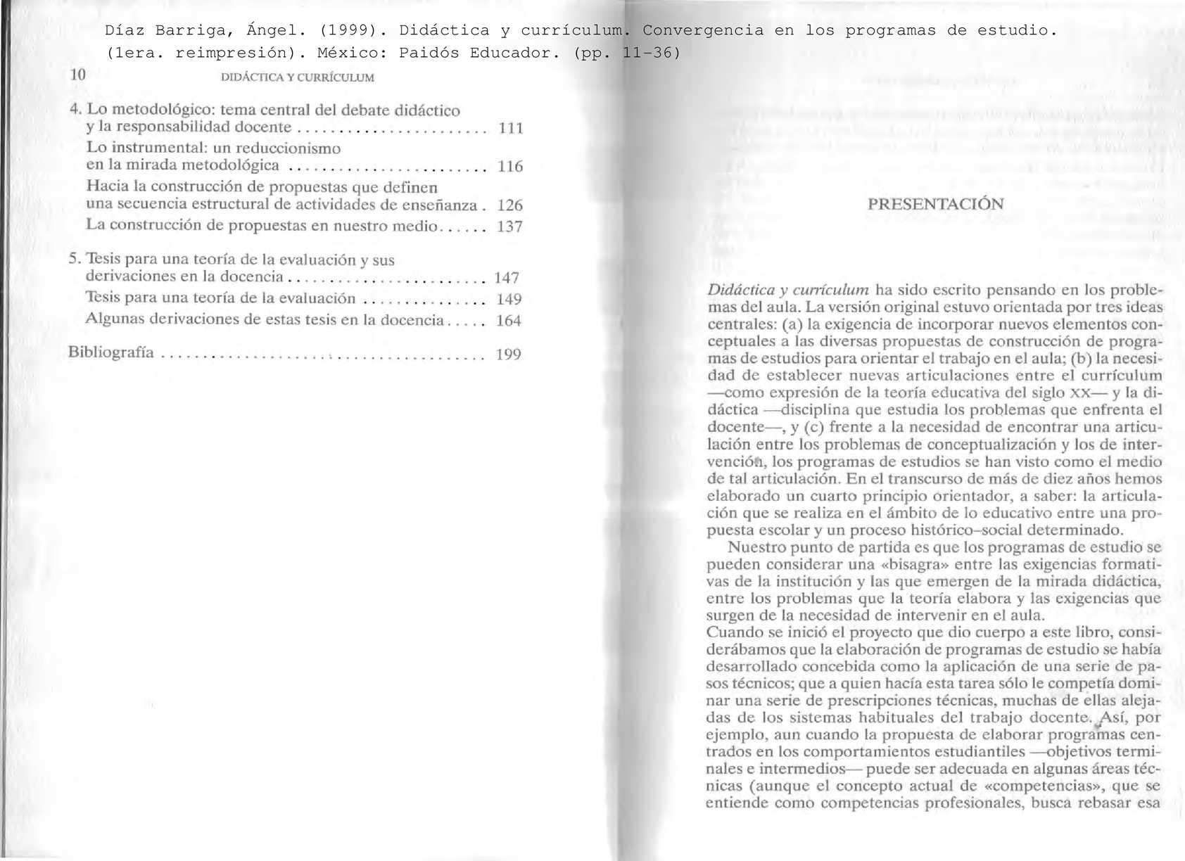 Calaméo - Diaz Barriga Didactica Y Curriculum
