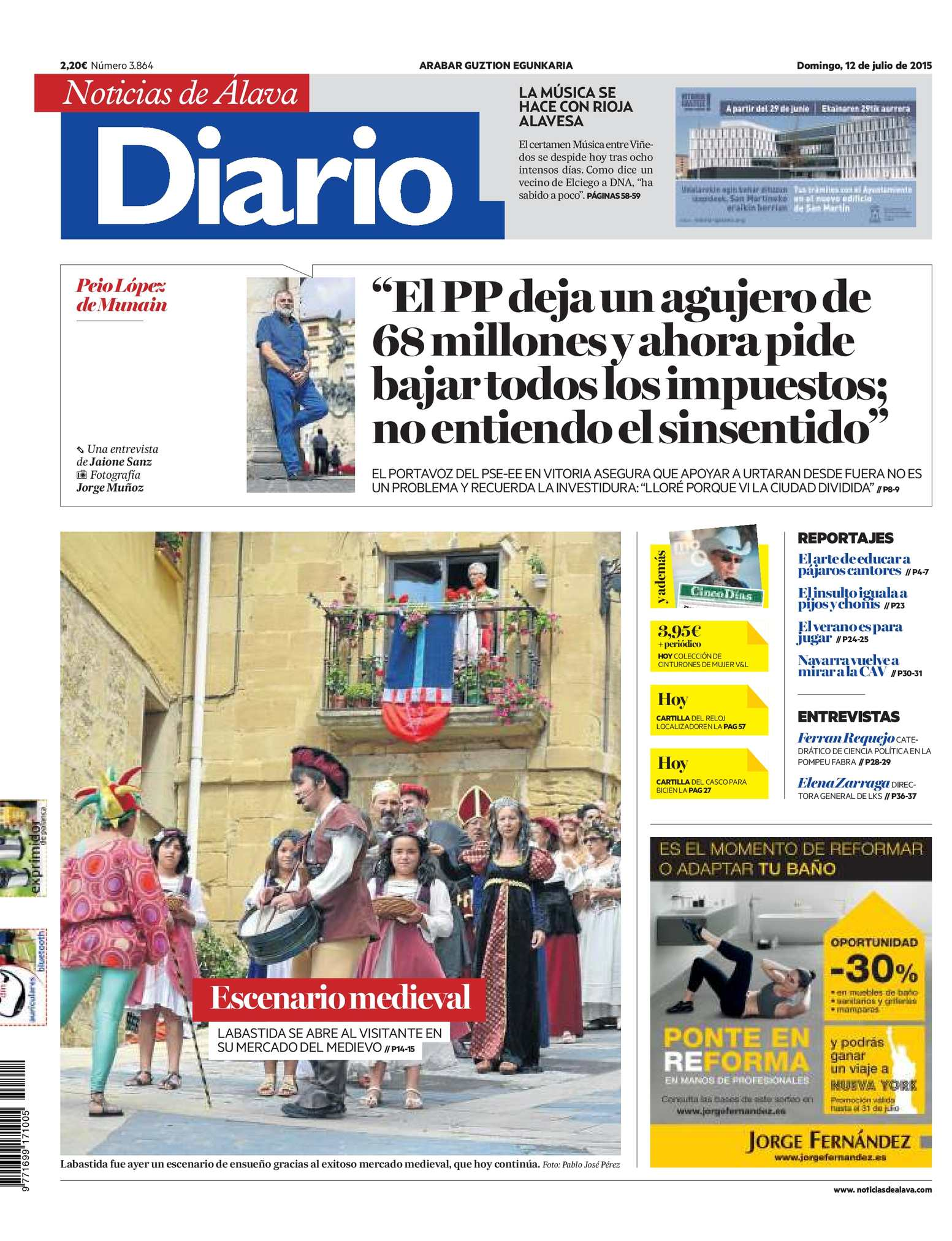 a2f9b1dc8aac1 Calaméo - Diario de Noticias de Álava 20150712