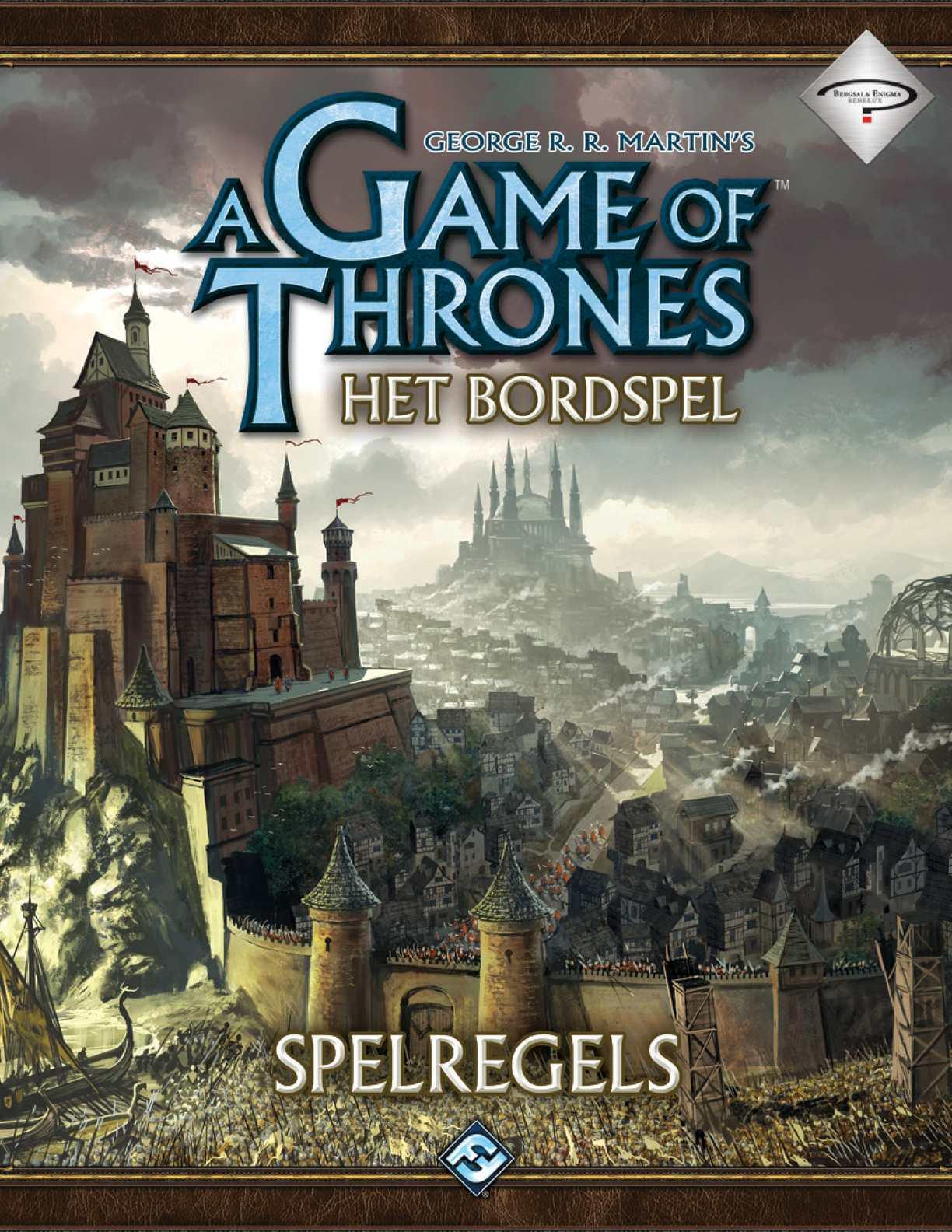 Game Of Thrones Bordspel NL - Spelregels