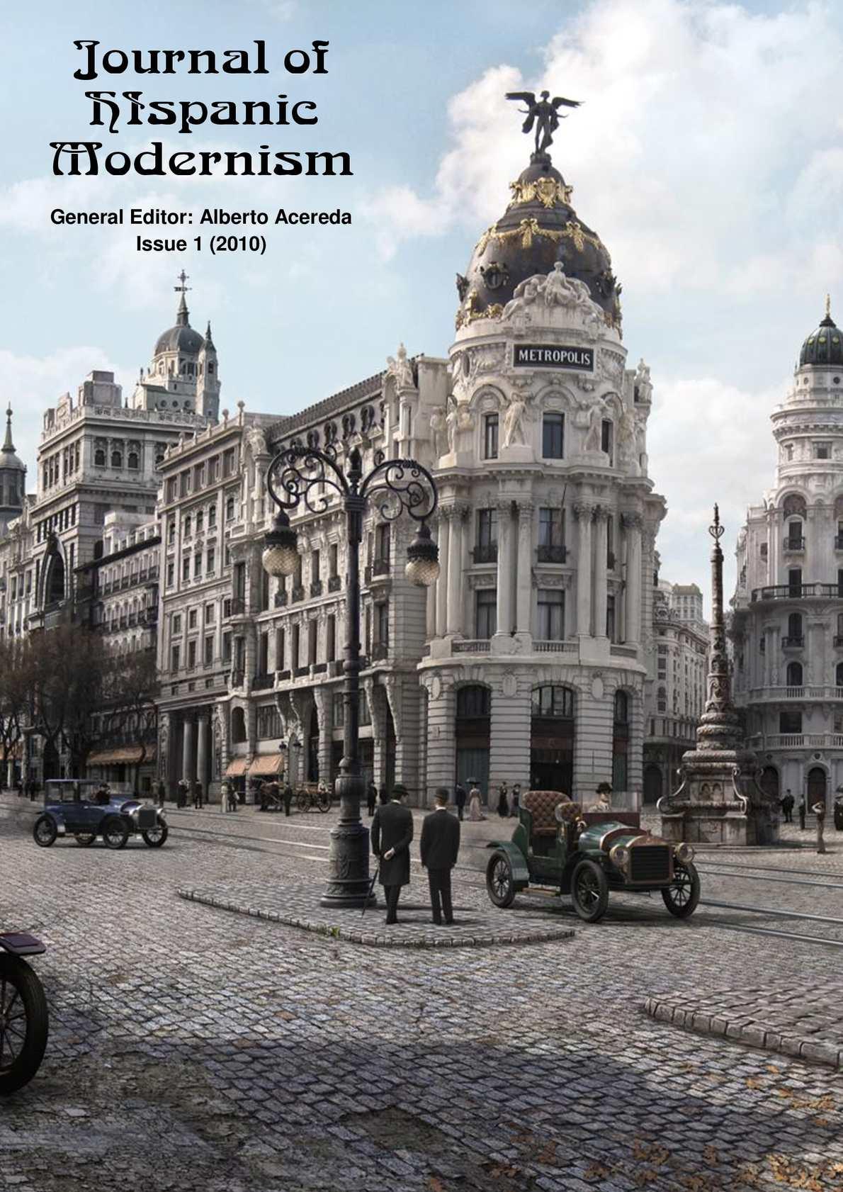 Calaméo - Journal of Hispanic Modernism - Issue 1 e867b41ce28