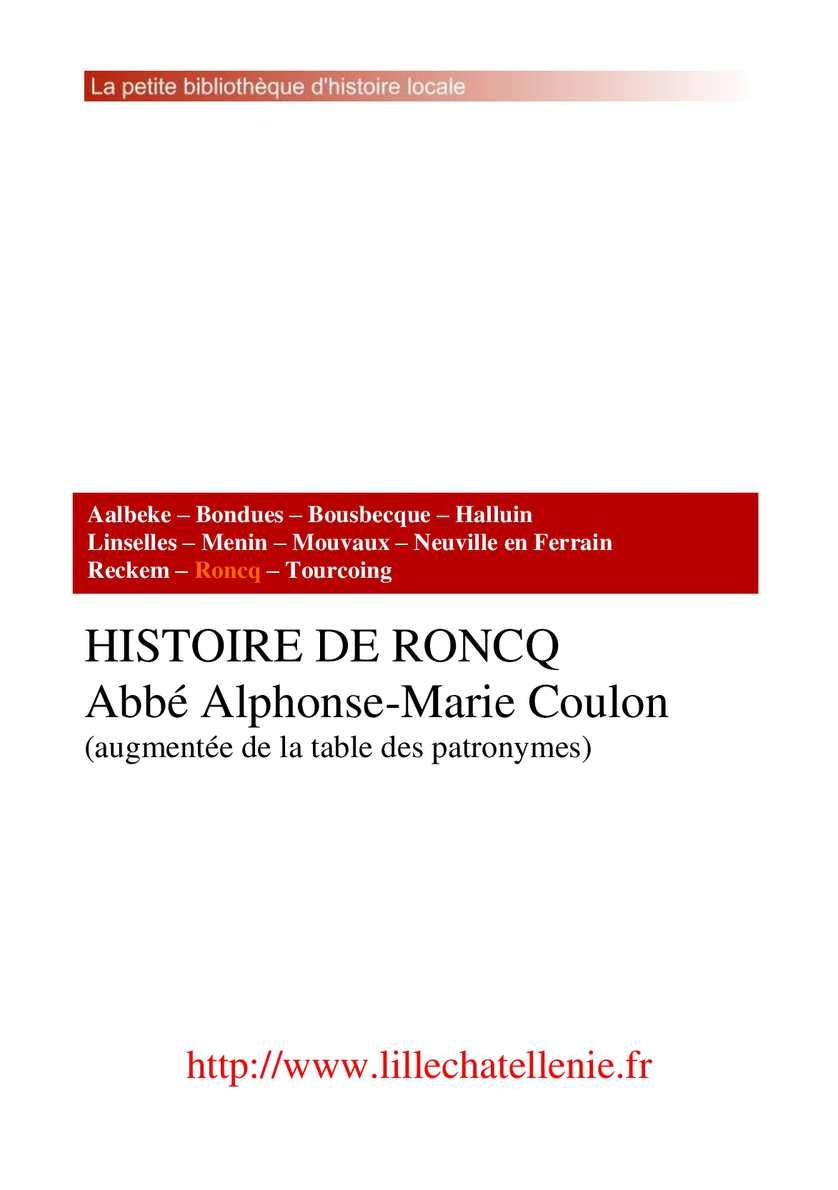 Histoire de Roncq