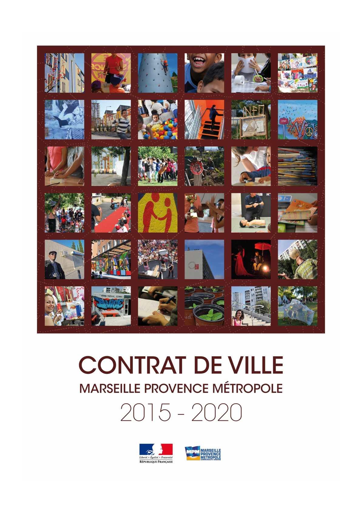 Contrat De Ville Marseille Provence Métropole 2015 - 2020