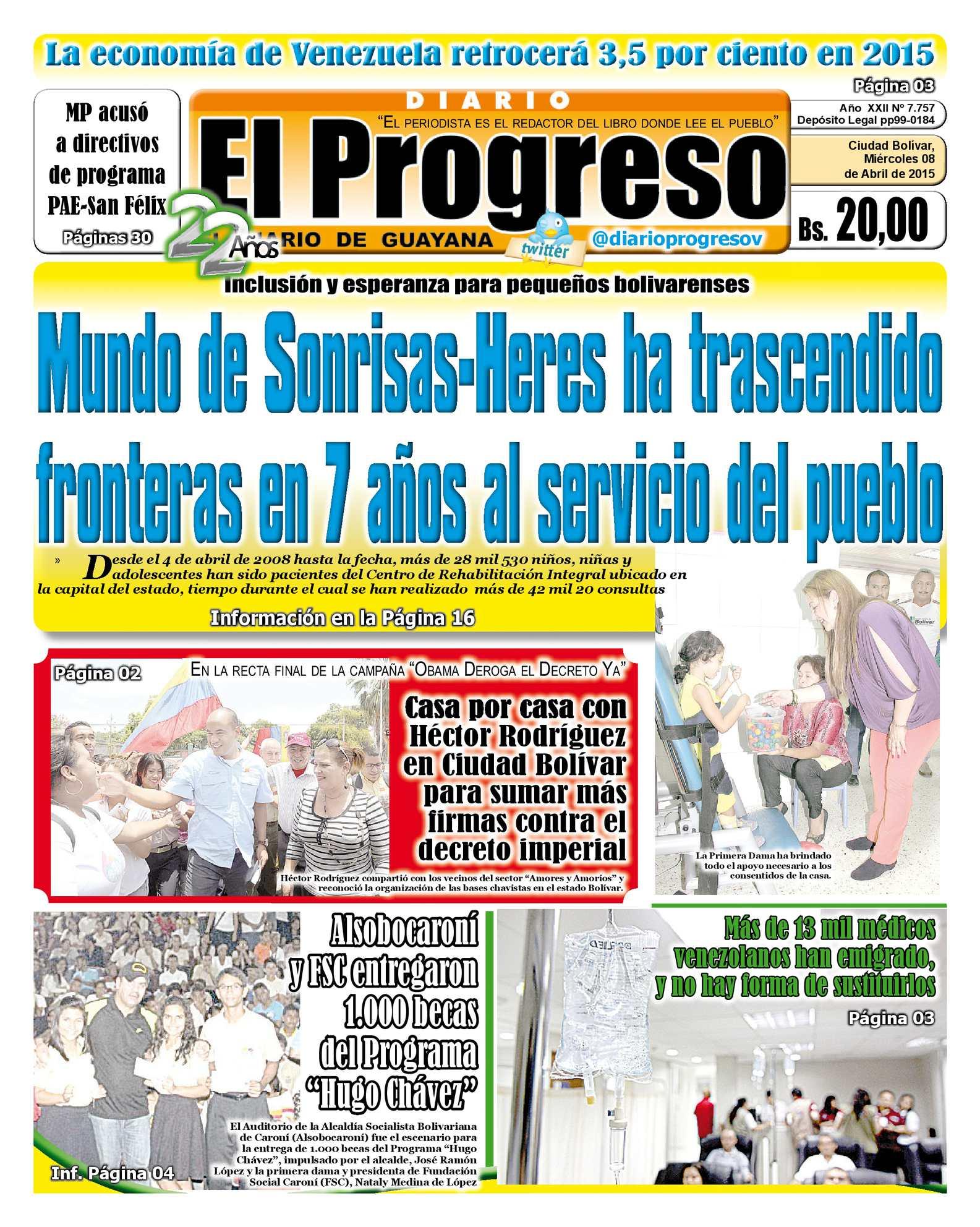 Calaméo - DiarioelprogresoEDICIÓNDIGITAL 08-04-2015