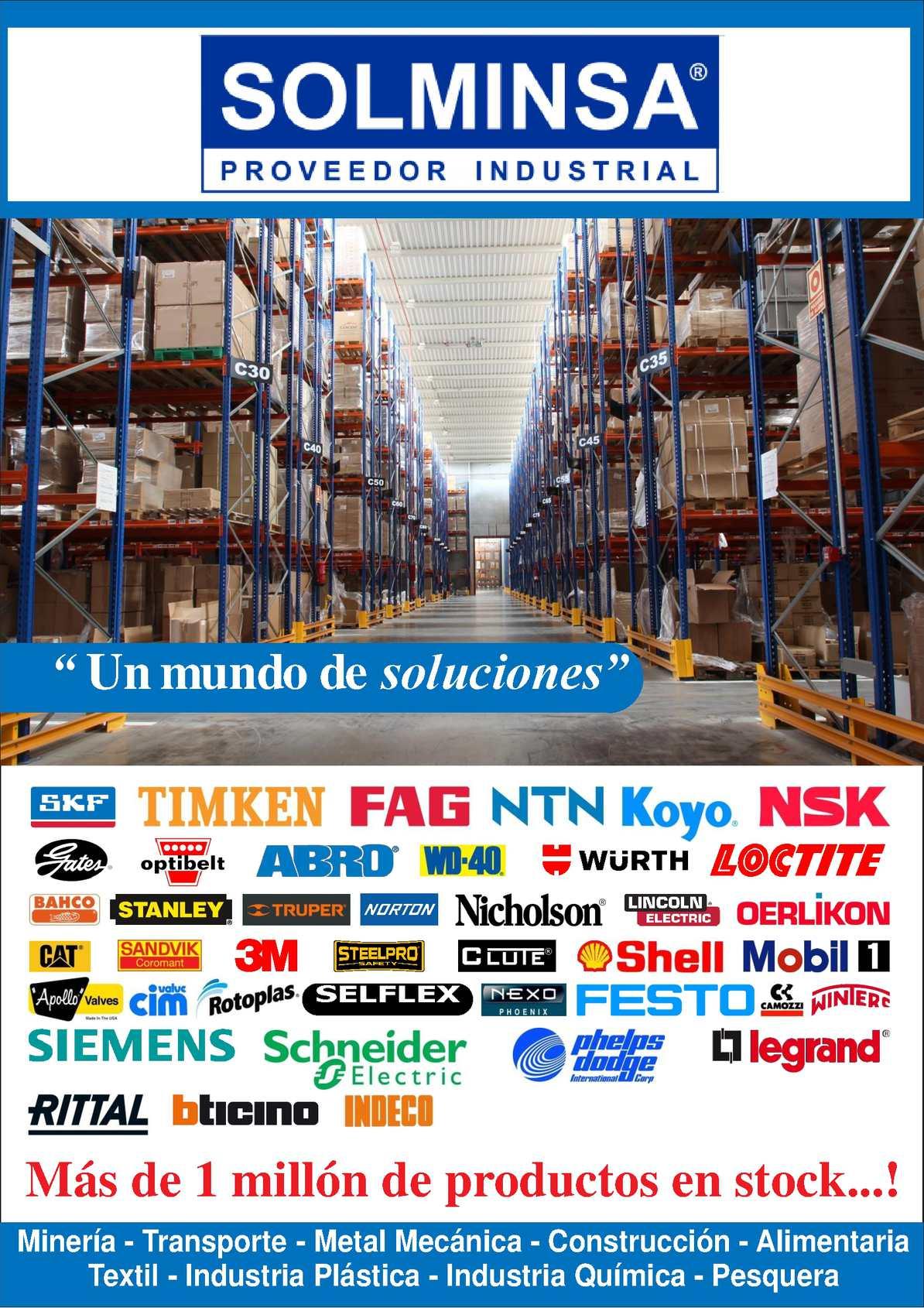 Brochure Solminsa Proveedor Industrial