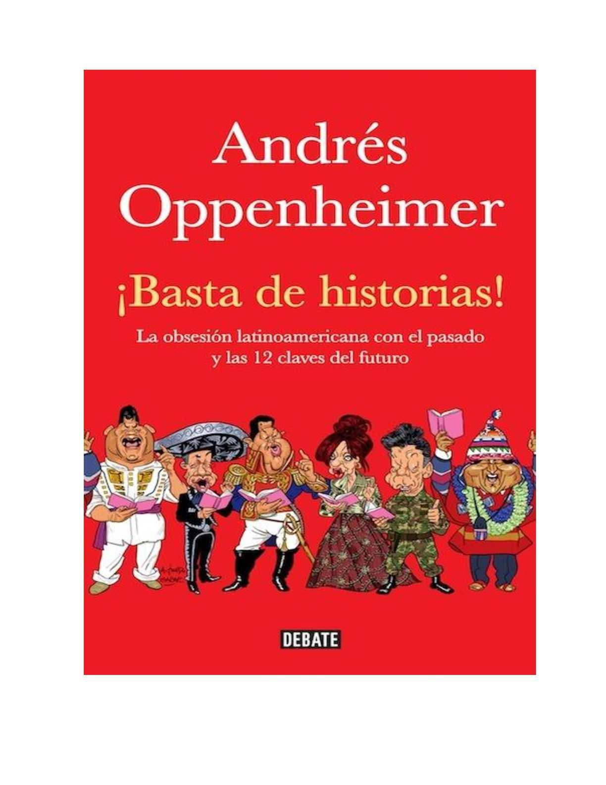 Calaméo - GI - ANDRES OPPENHEIMER - BASTA DE HISTORIAS