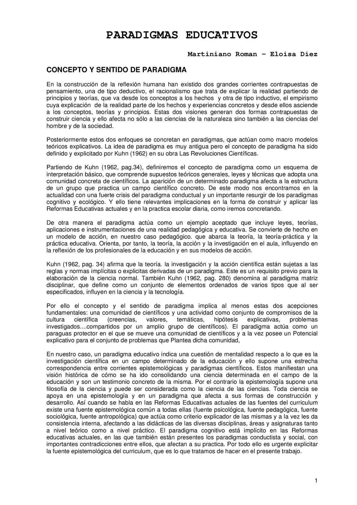 Calaméo - GP - M. ROMAN - PARADIGMAS EDUCATIVOS